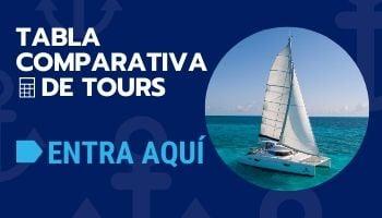 ¿Cuál es el mejor tour a Isla Mujeres en catamarán?