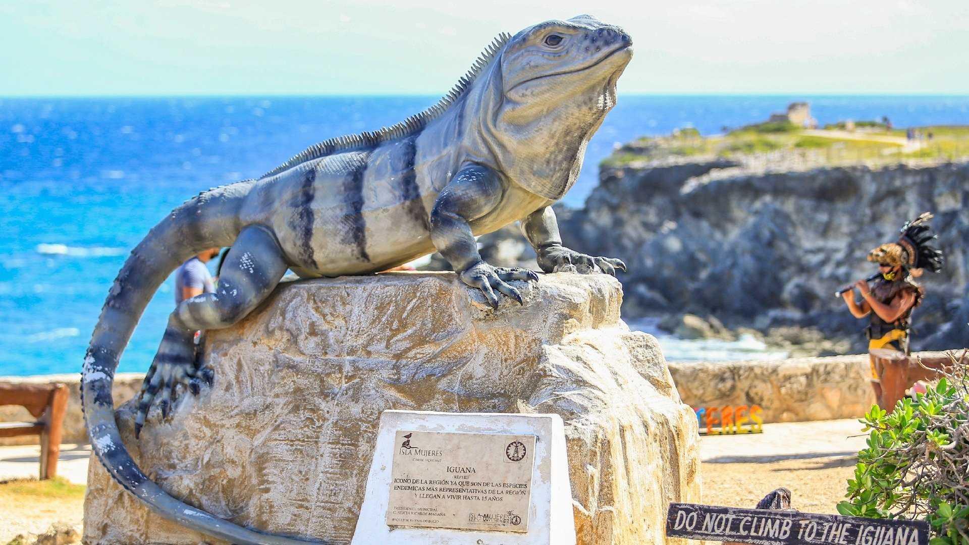 2 - LoRes - Iguana - Punta Sur - Isla Mujeres