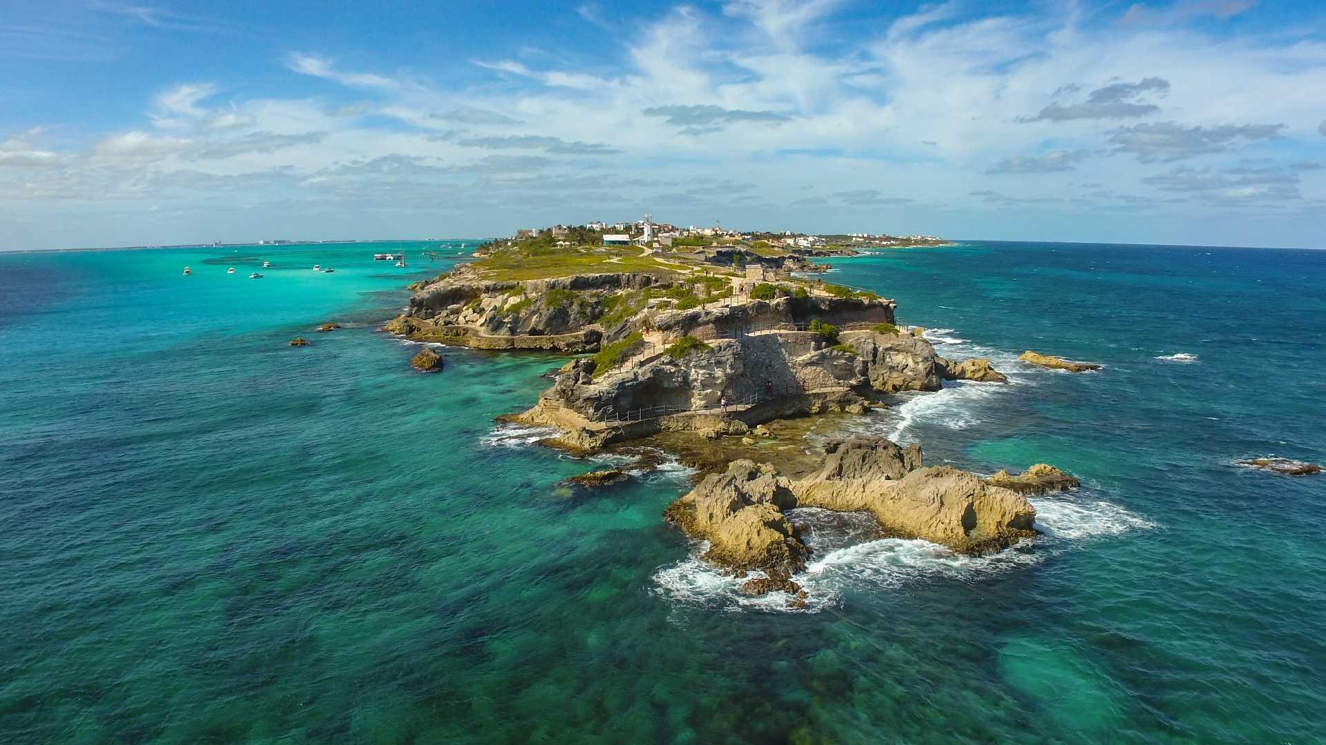 4 - LowRes - Acantilado - Punta Sur - Isla Mujeres