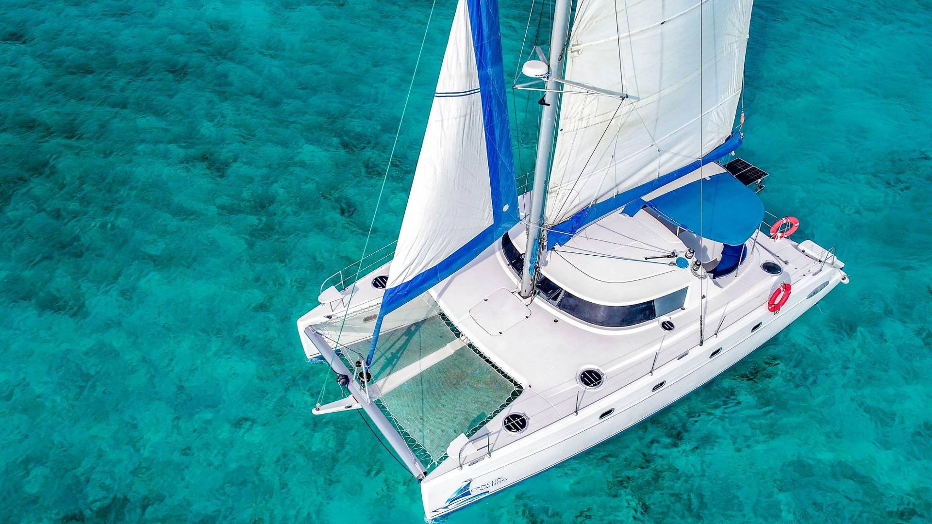 7 - LoRes - 4 Vents - Isla Mujeres Catamaran Tour - Cancun Sailing