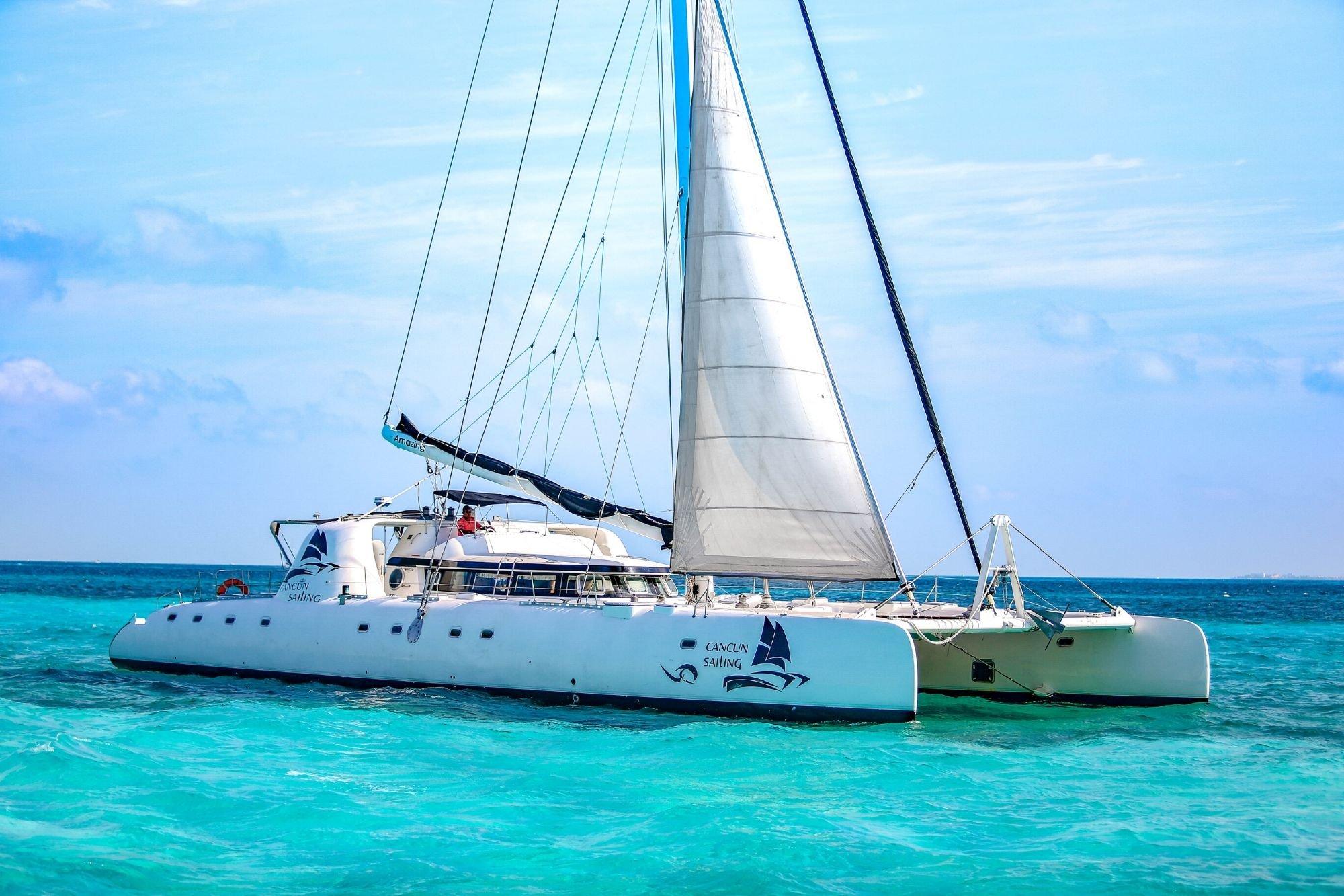6 - HiRes - Amazing - Isla Mujeres Catamaran Tour - Cancun Sailing
