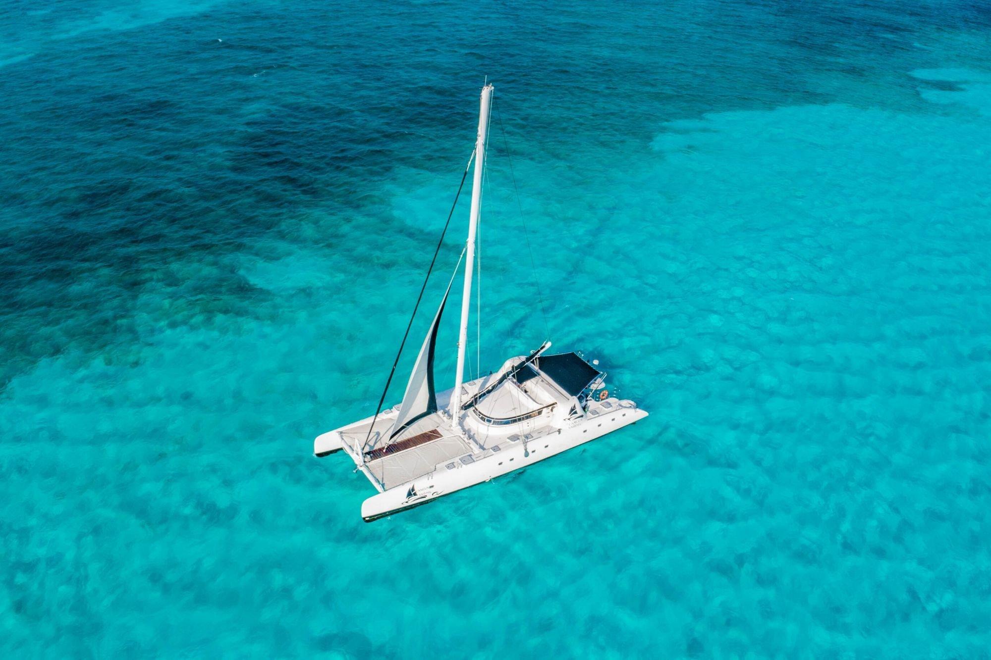 8 - HiRes - Amazing - Isla Mujeres Catamaran Tour - Cancun Sailing