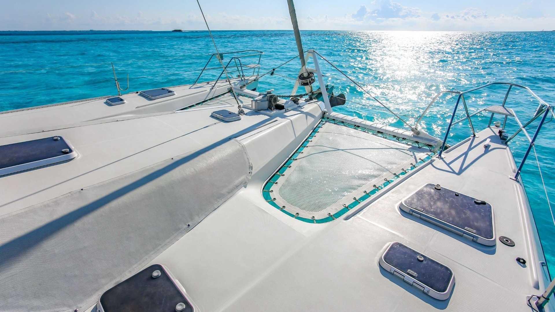 1 - LoRes - Arjuna - Isla Mujeres Catamaran Tour - Cancun Sailing