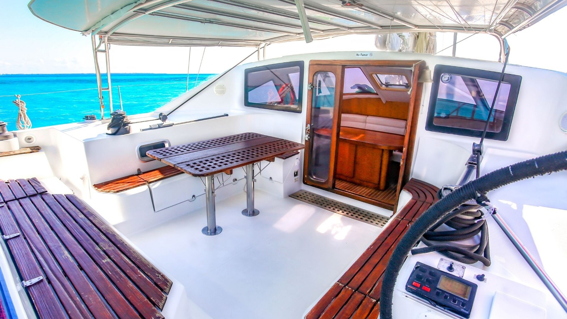 5 - LoRes - Arjuna - Isla Mujeres Catamaran Tour - Cancun Sailing