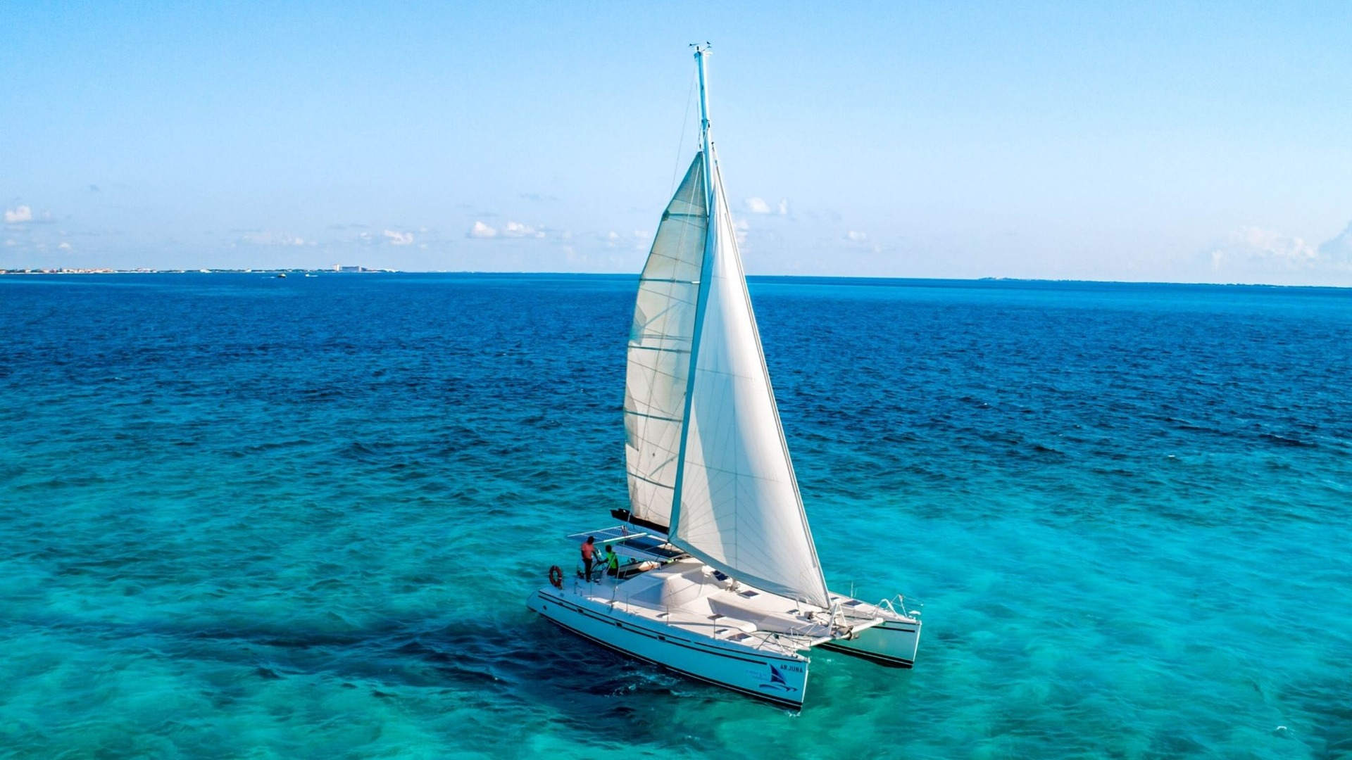 7 - LoRes - Arjuna - Isla Mujeres Catamaran Tour - Cancun Sailing