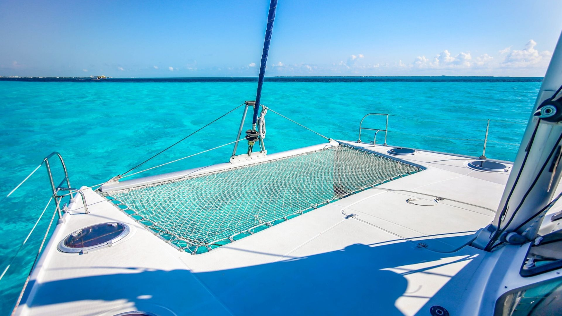 2 - LoRes - Kendo - Isla Mujeres Catamaran Tour - Cancun Sailing