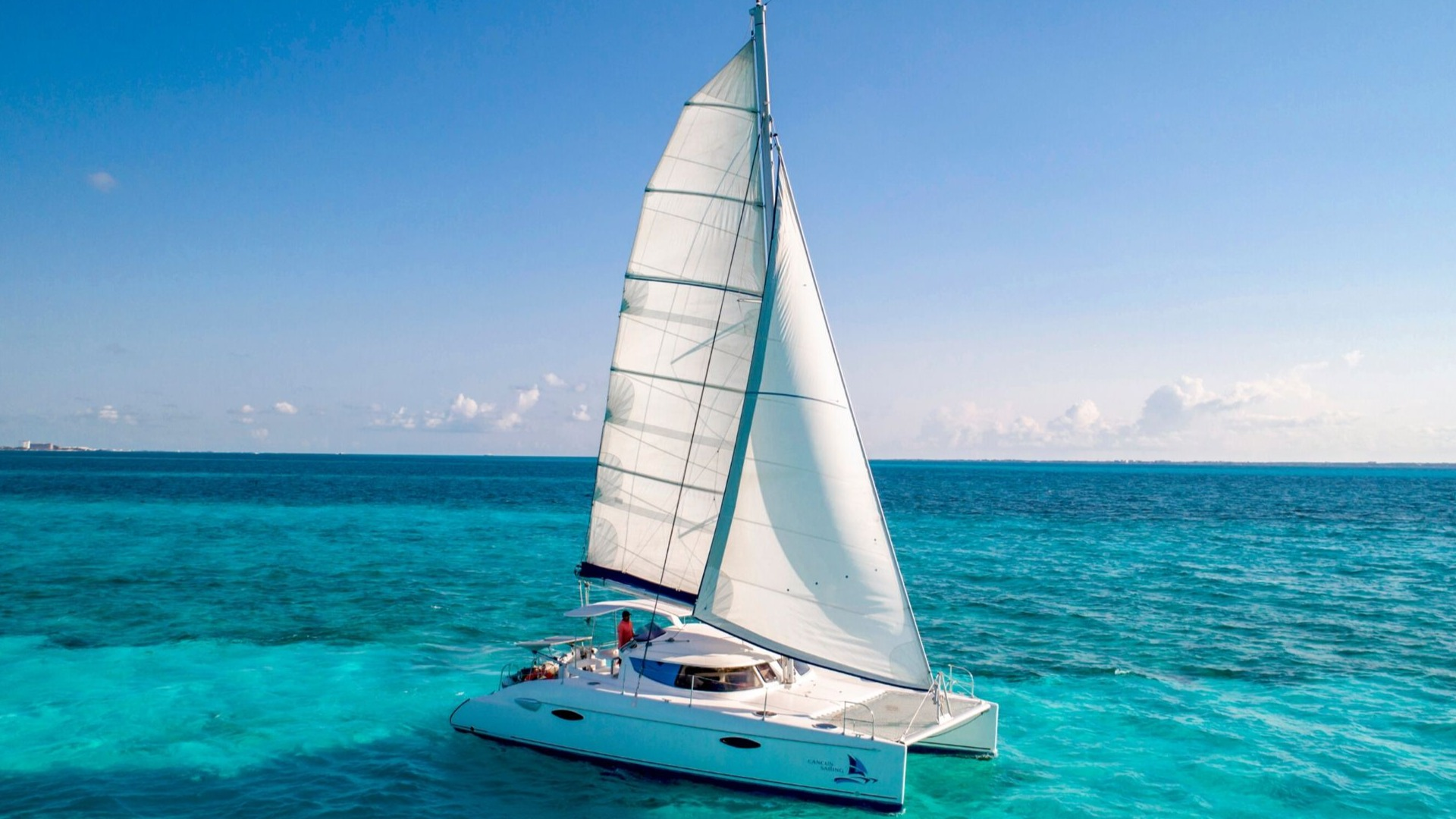 3 - LoRes - Kendo - Isla Mujeres Catamaran Tour - Cancun Sailing