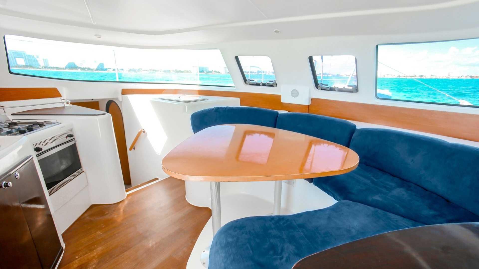 4 - LoRes - Kendo - Isla Mujeres Catamaran Tour - Cancun Sailing