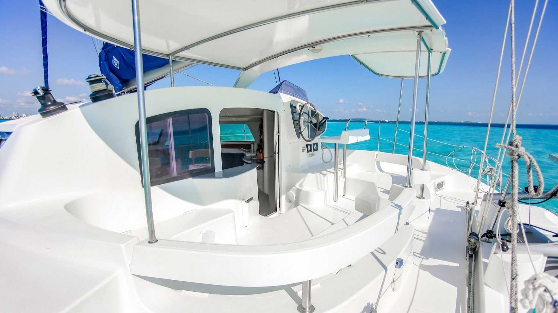 5 - LoRes - Kendo - Isla Mujeres Catamaran Tour - Cancun Sailing