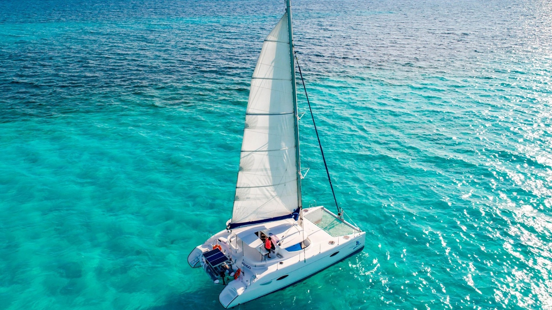 7 - LoRes - Kendo - Isla Mujeres Catamaran Tour - Cancun Sailing