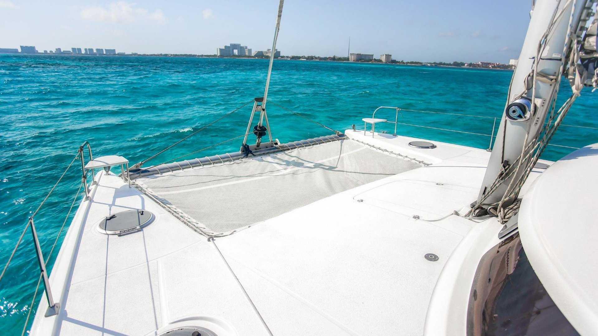 1 - LoRes - Lady Caroline - Isla Mujeres Catamaran Tour - Cancun Sailing