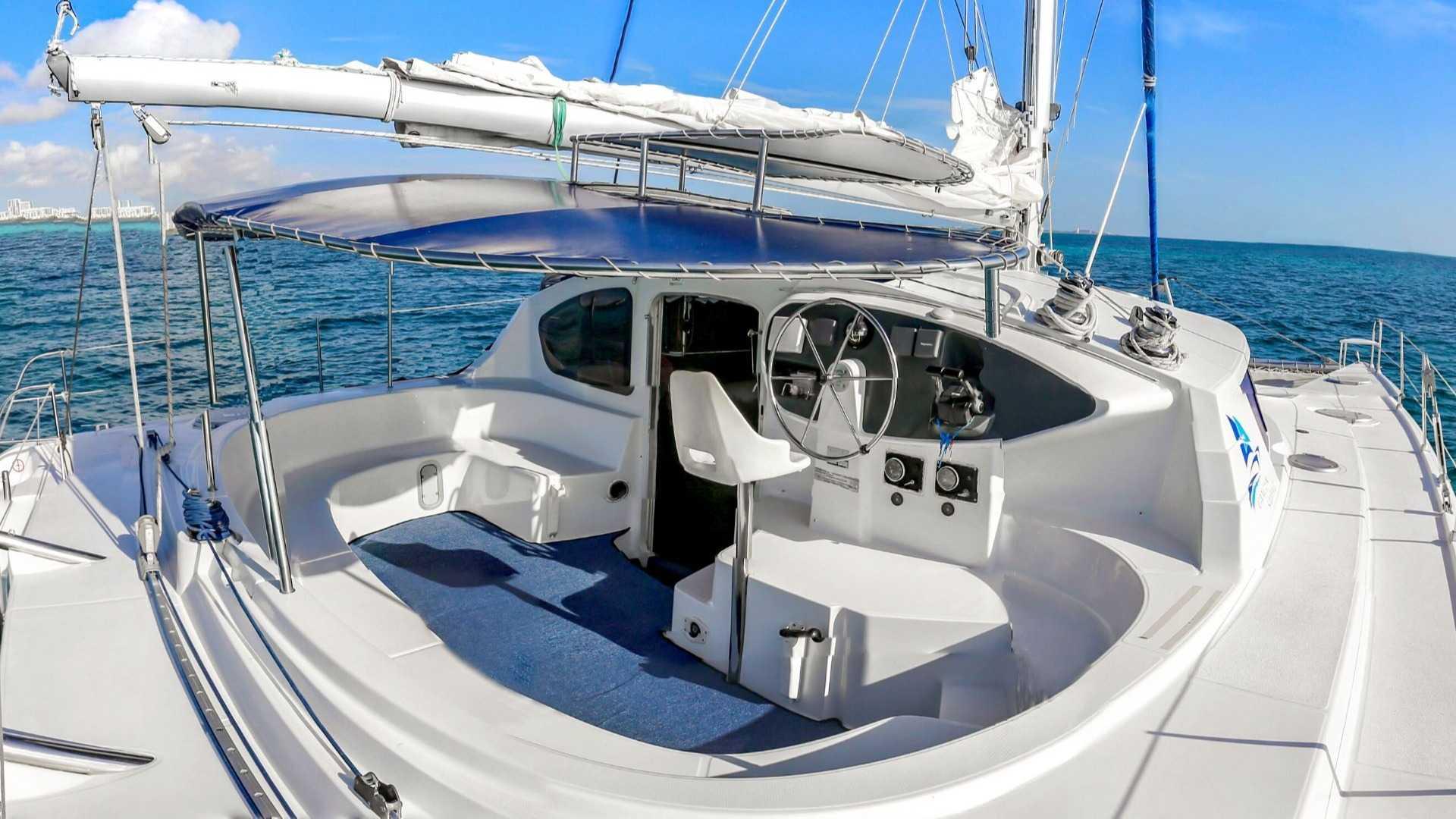 6 - LoRes - Lady Caroline - Isla Mujeres Catamaran Tour - Cancun Sailing