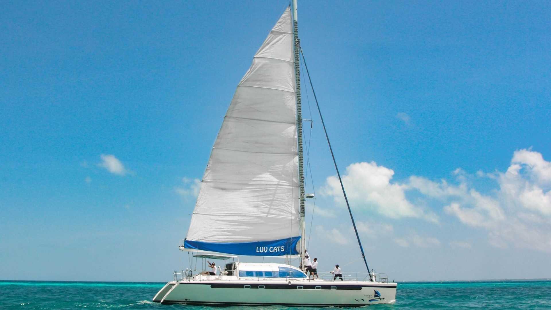 3 - LowRes - Luv Cat - Isla Mujeres Catamaran Tour - Cancun Sailing