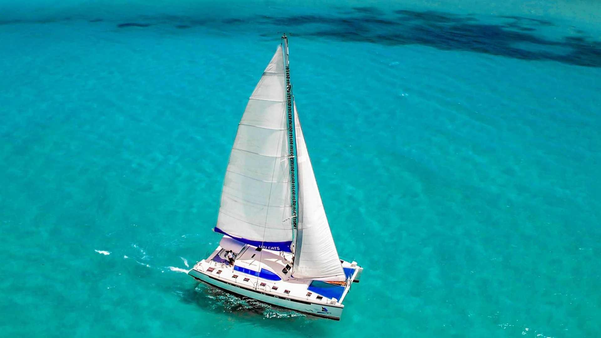 5 - LowRes - Luv Cat - Isla Mujeres Catamaran Tour - Cancun Sailing