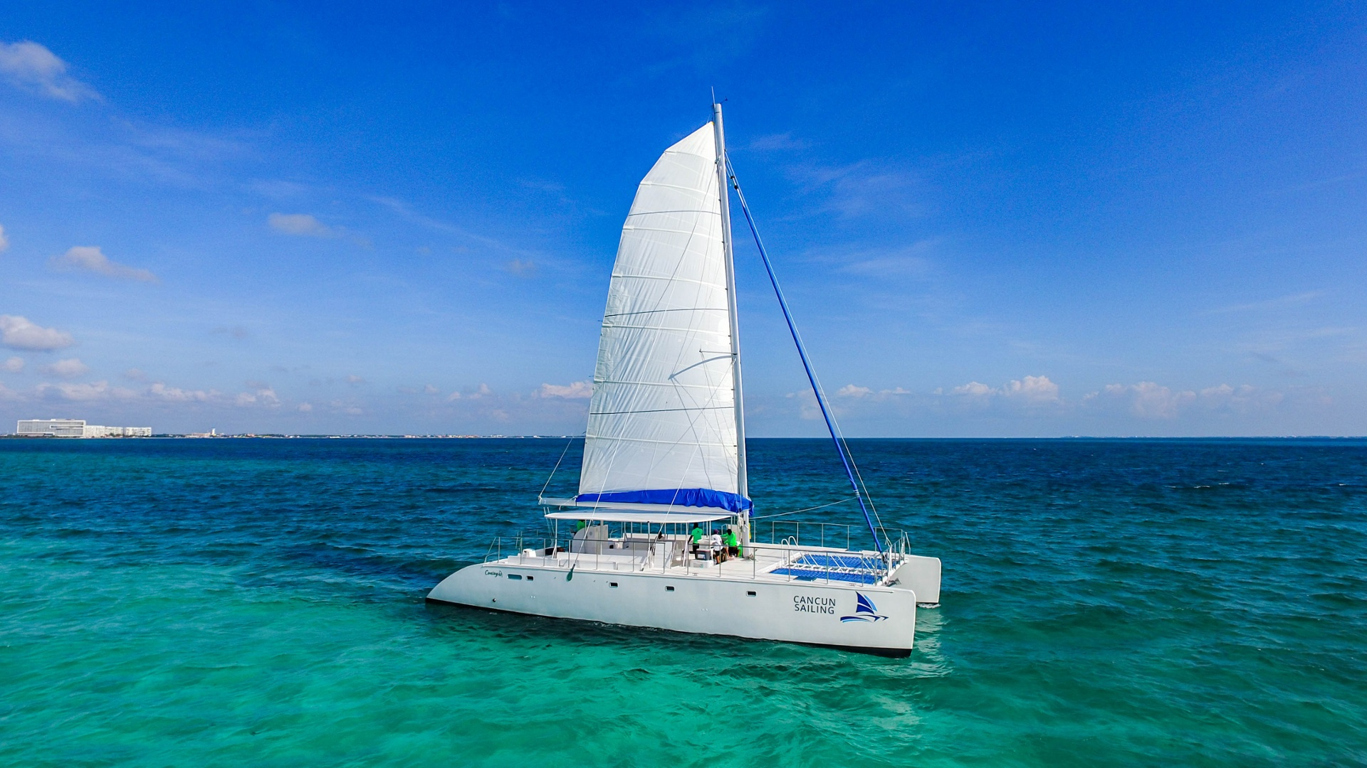 LowRes - Maines - Isla Mujeres Catamaran Tour - Cancun Sailing - 5