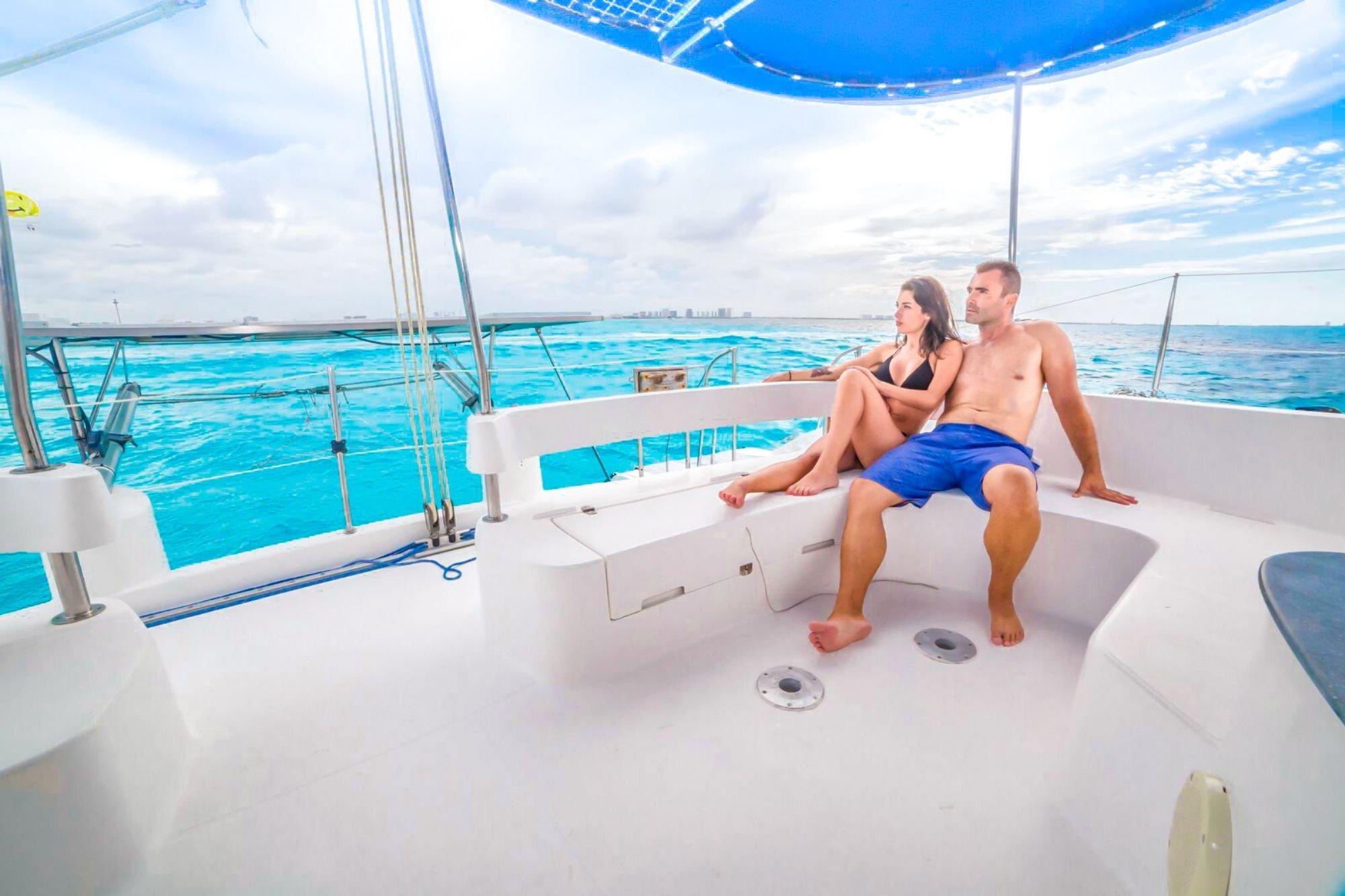 1 - HiRes - Malube - Isla Mujeres Catamaran Tour - Cancun Sailing