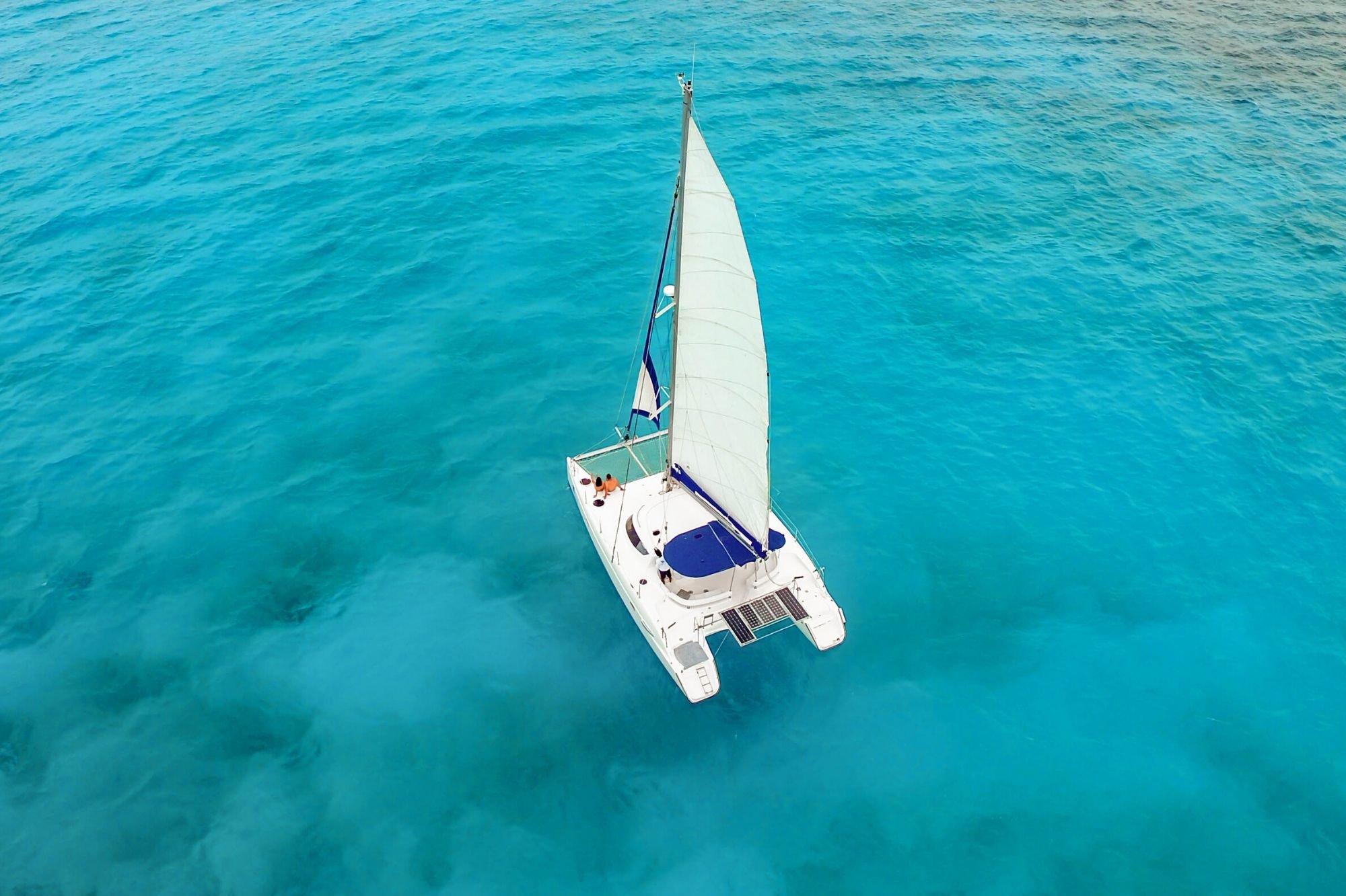 5 - HiRes - Malube - Isla Mujeres Catamaran Tour - Cancun Sailing