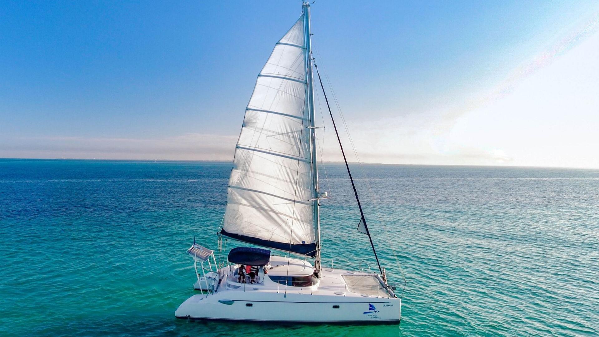 1 - LowRes - Mango - Isla Mujeres Catamaran Tour - Cancun Sailing