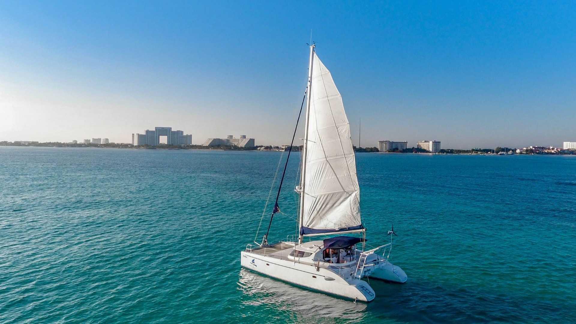 3 - LowRes - Mango - Isla Mujeres Catamaran Tour - Cancun Sailing