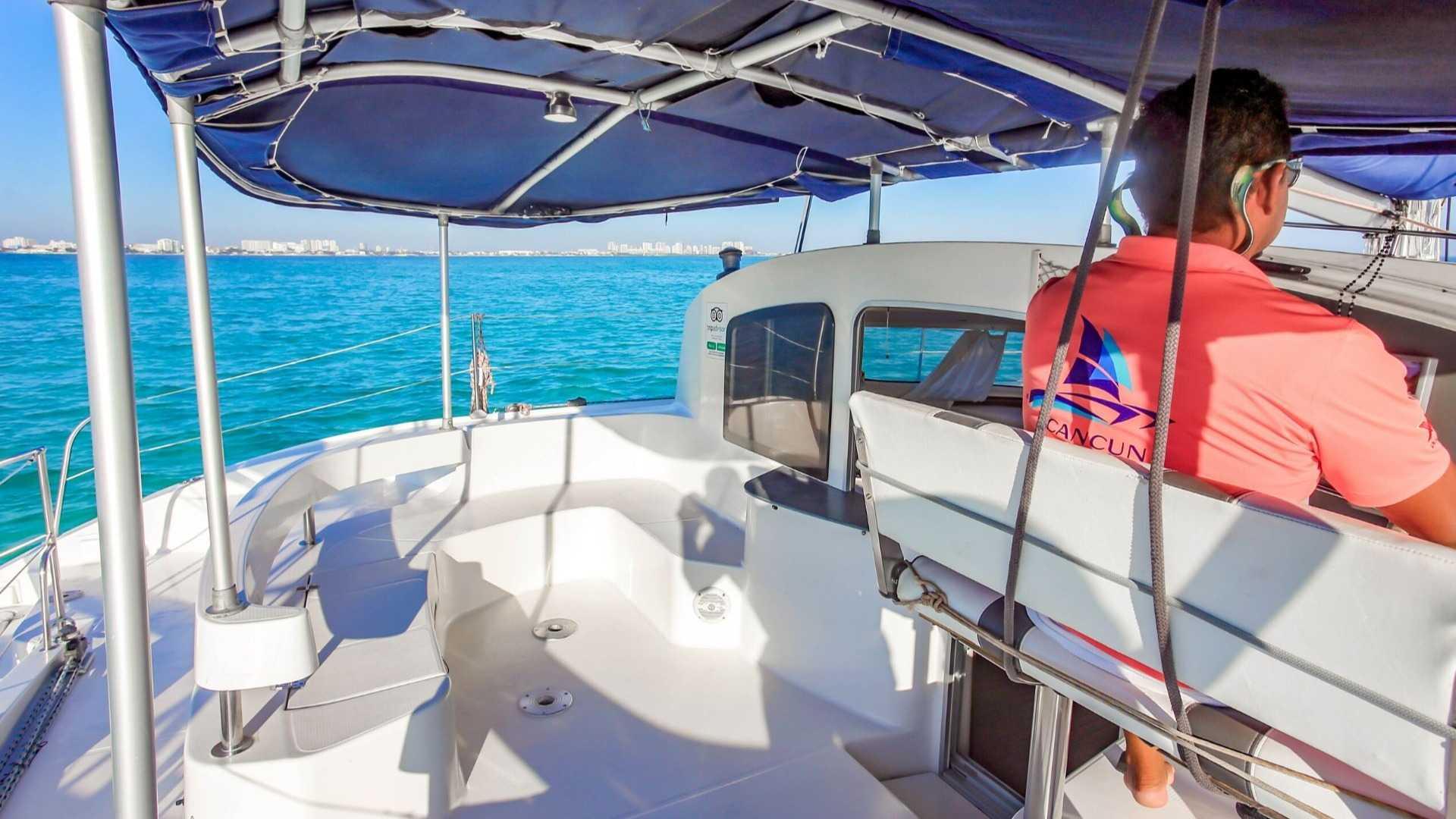 5 - LowRes - Mango - Isla Mujeres Catamaran Tour - Cancun Sailing