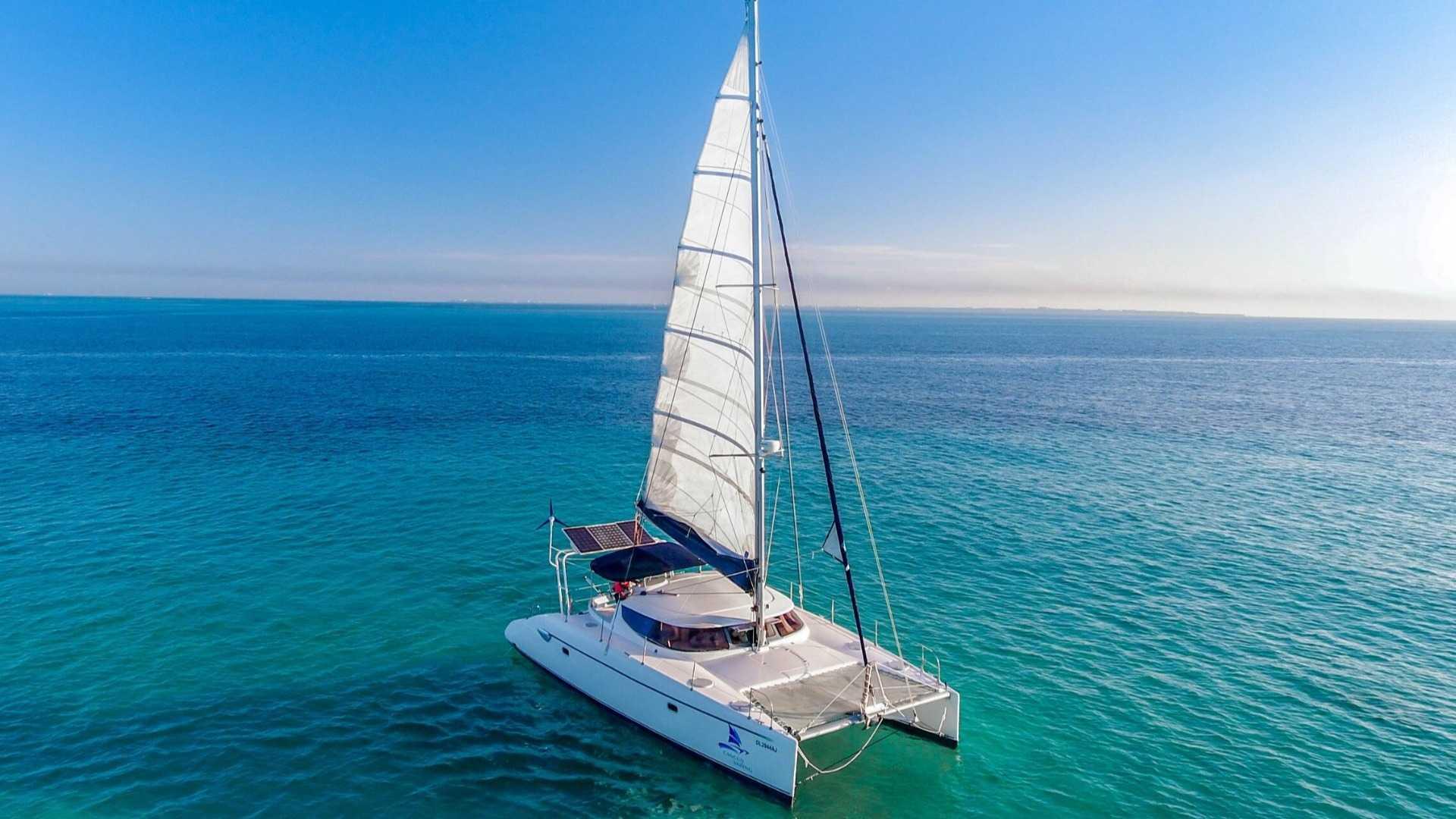 7 - LowRes - Mango - Isla Mujeres Catamaran Tour - Cancun Sailing