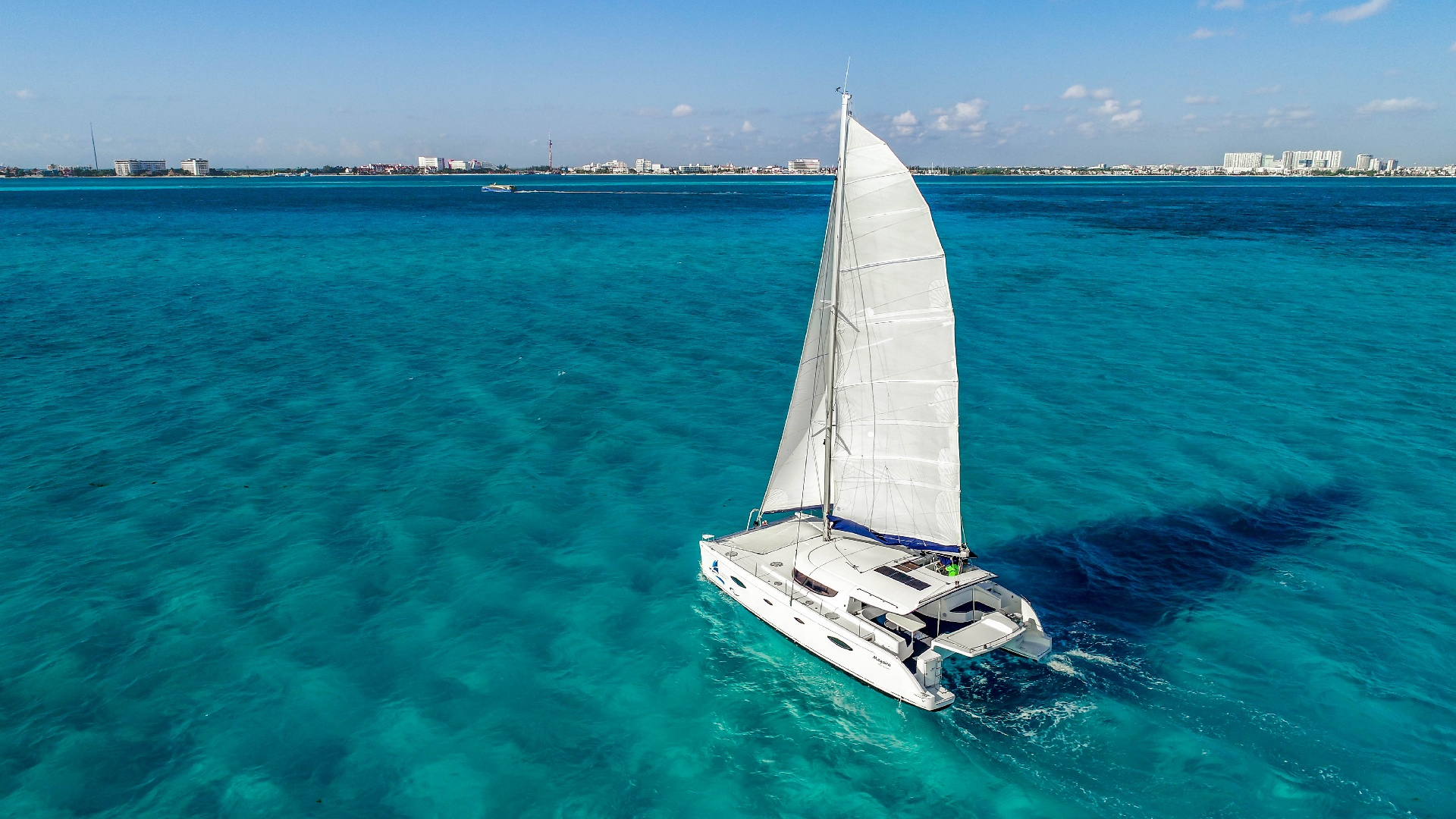 5 - LowRes Megaira- Private tour to Isla Mujeres in catamaran - Cancun Sailing