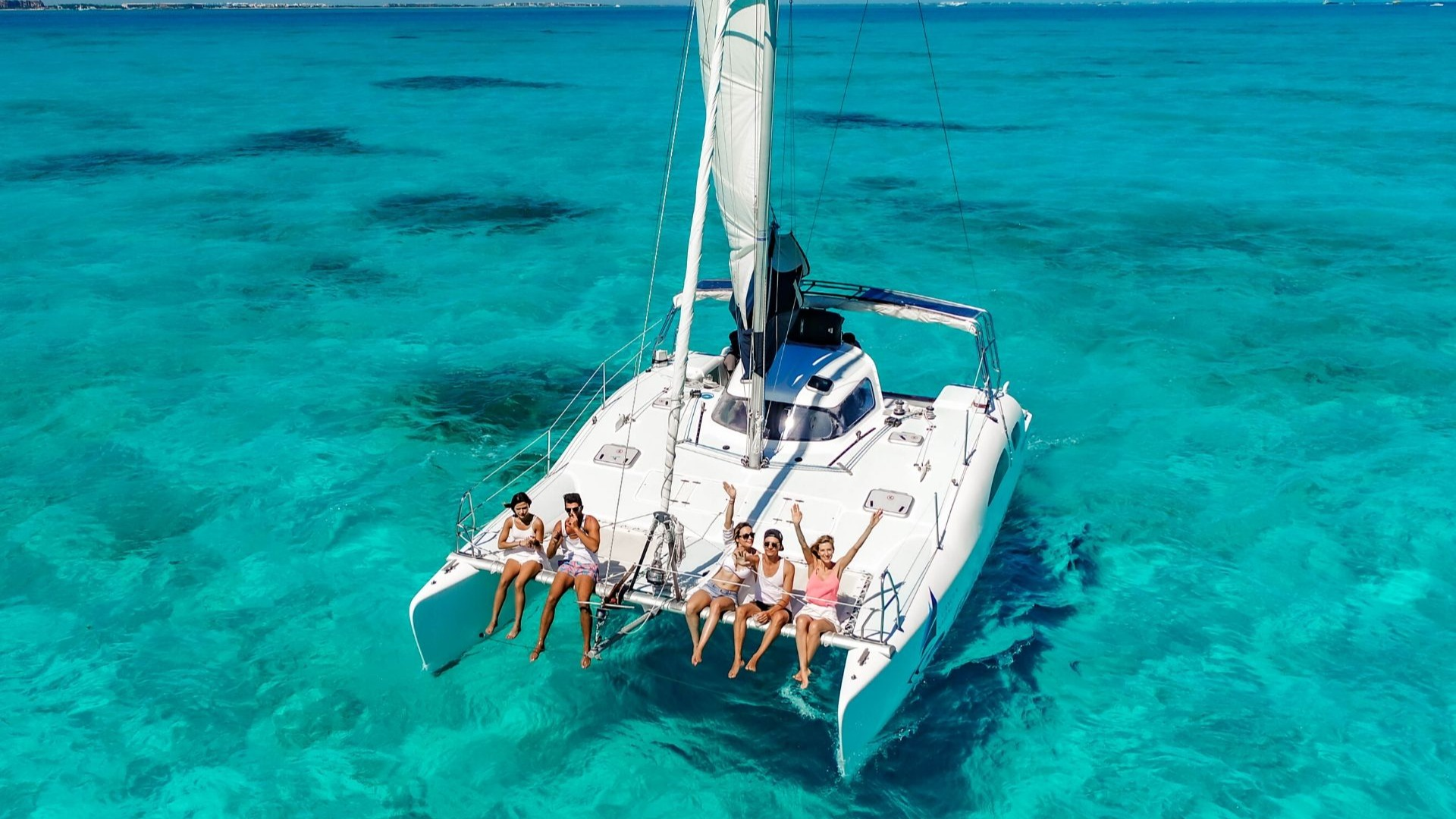 2 - LowRes - Nal Gone - Private tour to Isla Mujeres in catamaran - Cancun Sailing