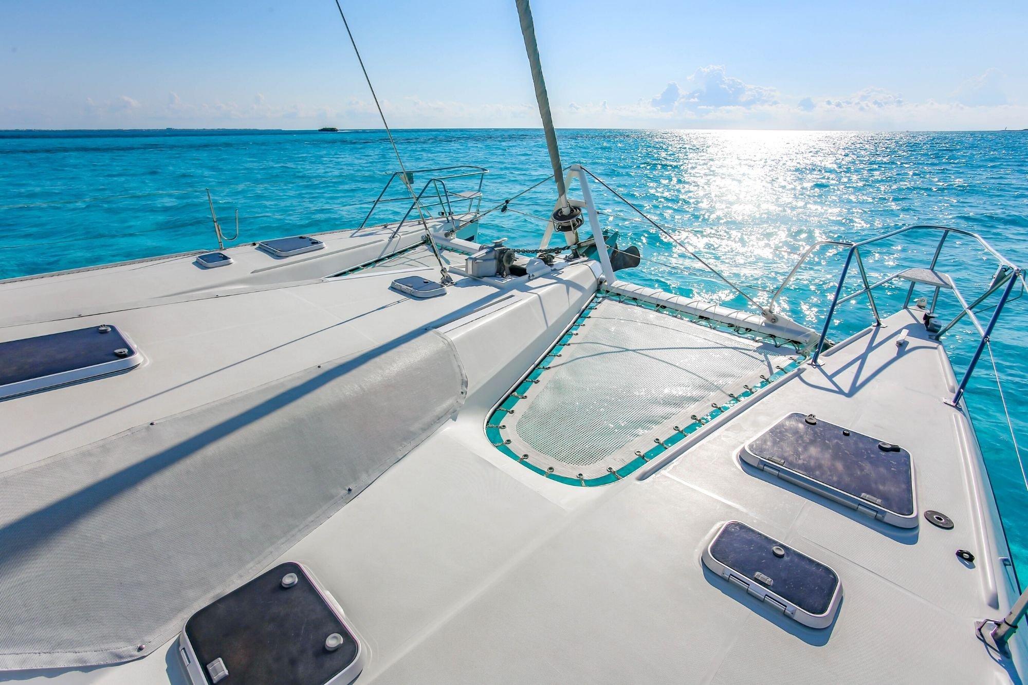 Arjuna - Isla Mujeres Catamaran Tour - Cancun Sailing - 1