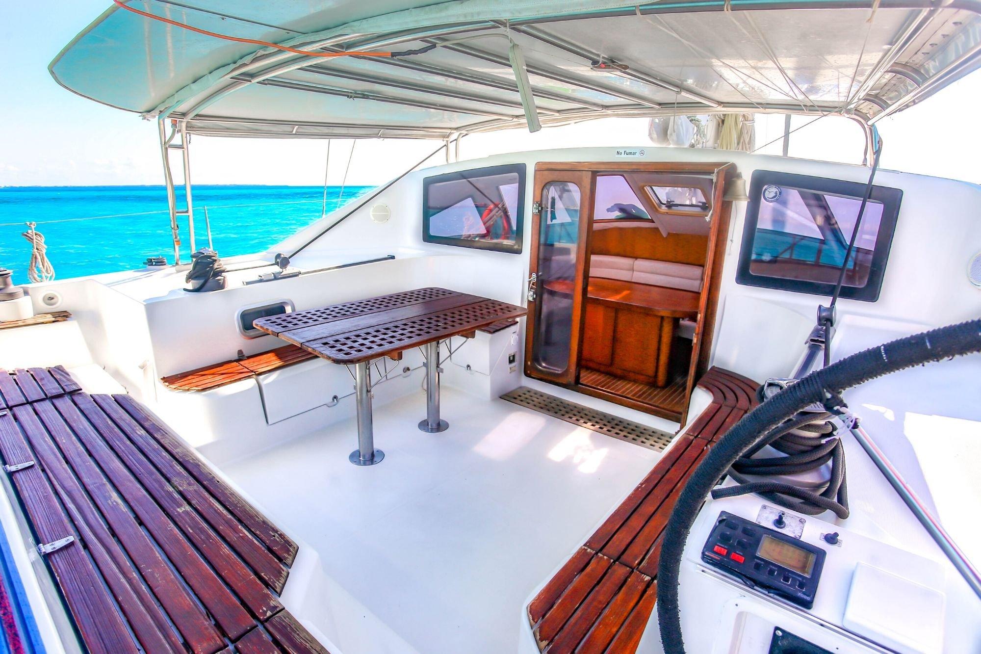 Arjuna - Isla Mujeres Catamaran Tour - Cancun Sailing - 5