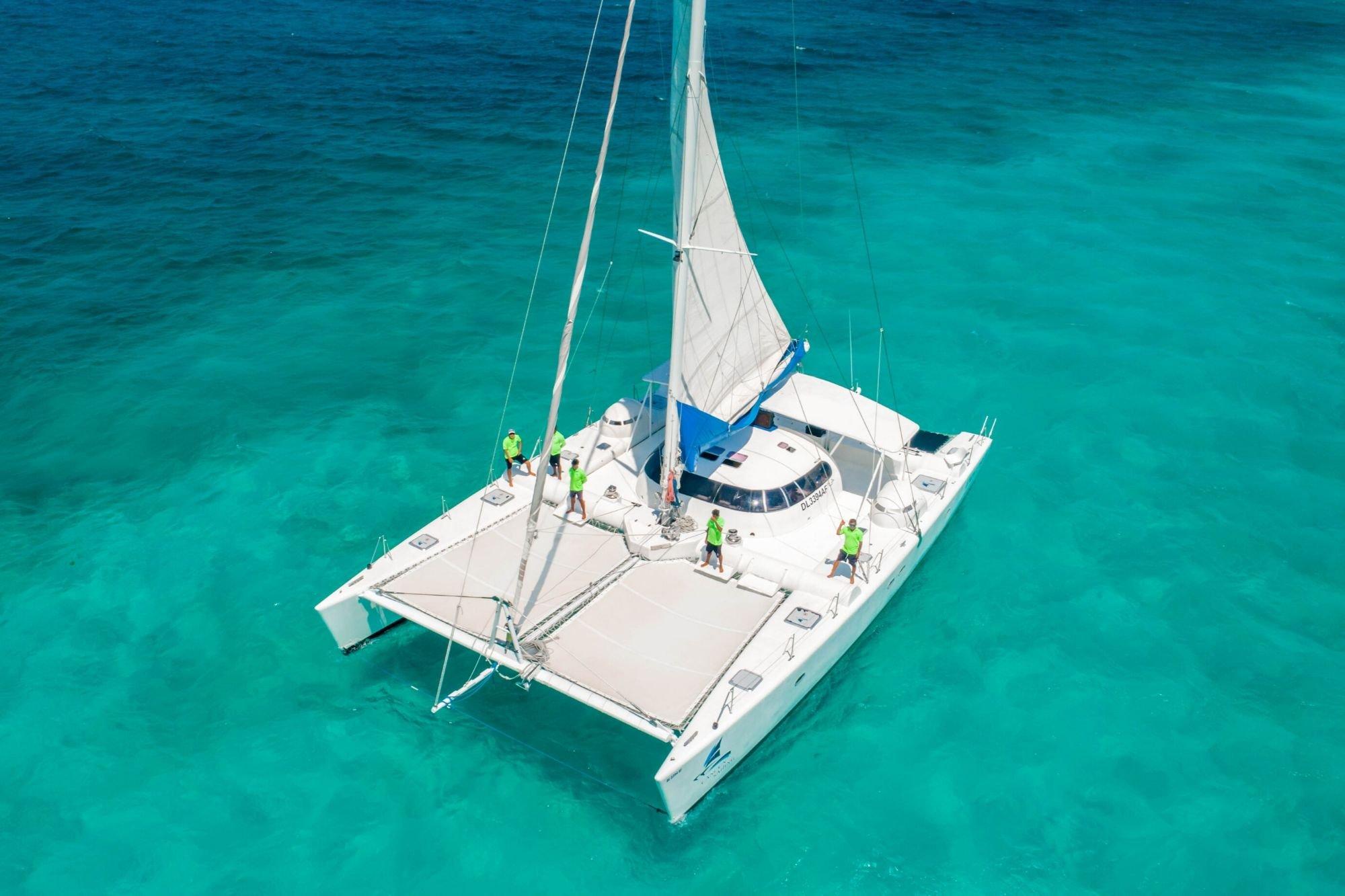Induna - Isla Mujeres Catamaran Tour - Cancun Sailing - 2