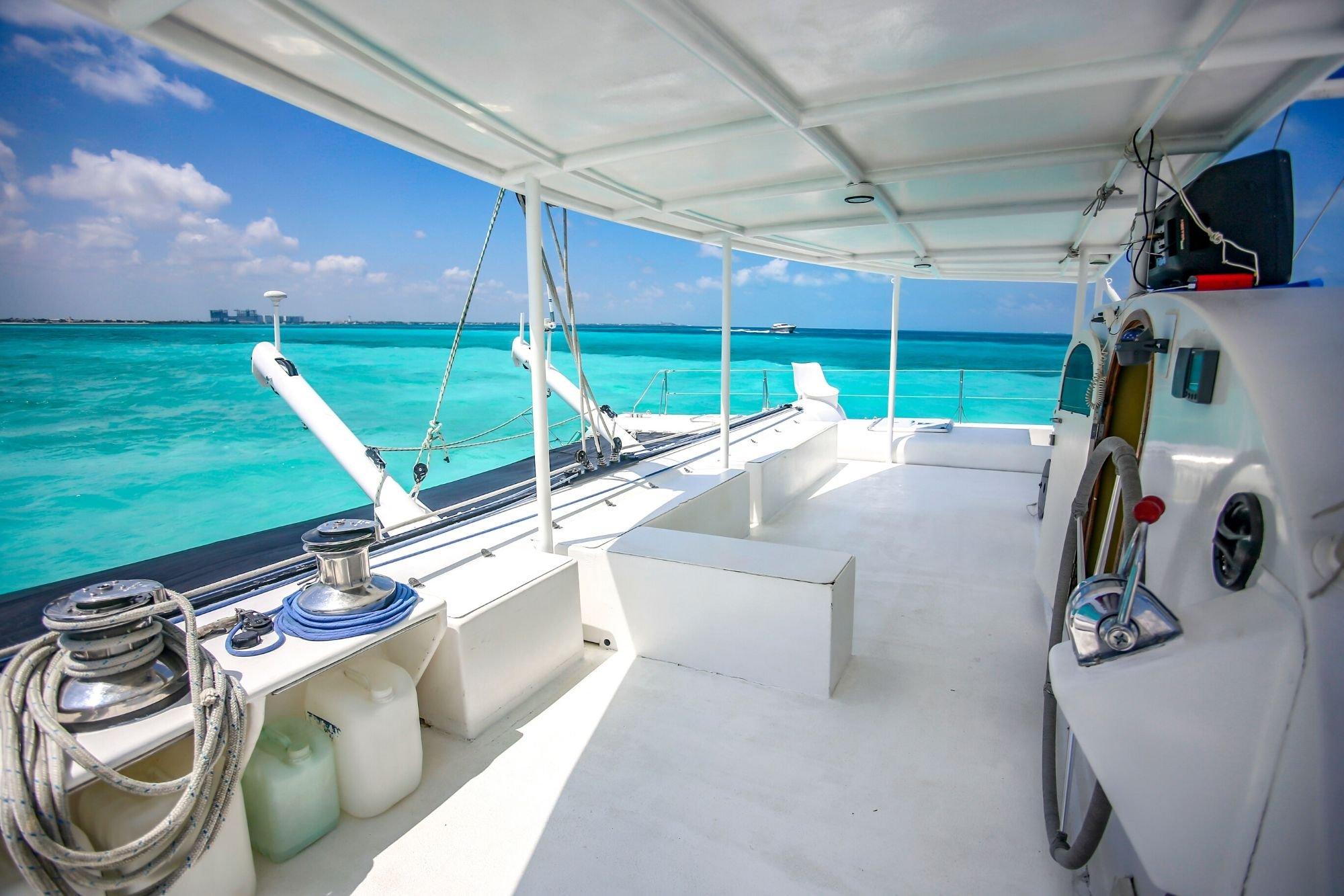 Induna - Isla Mujeres Catamaran Tour - Cancun Sailing - 4
