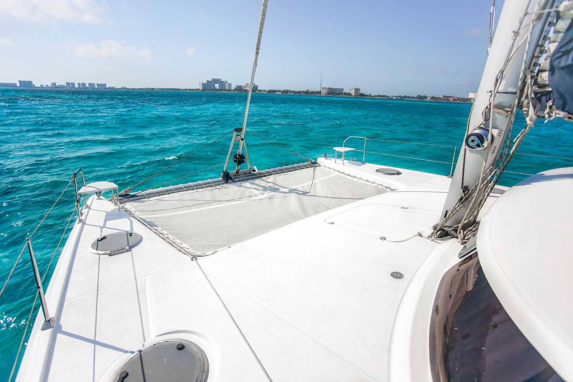 Lady Caroline - Isla Mujeres Catamaran Tour - Cancun Sailing - 2