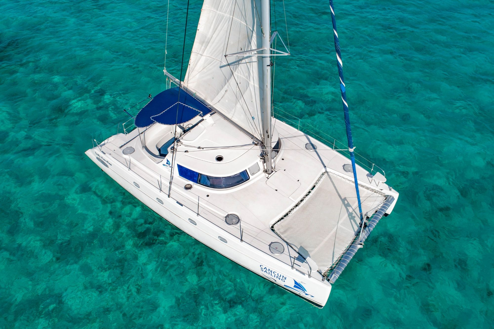 Lady Caroline - Isla Mujeres Catamaran Tour - Cancun Sailing - 3