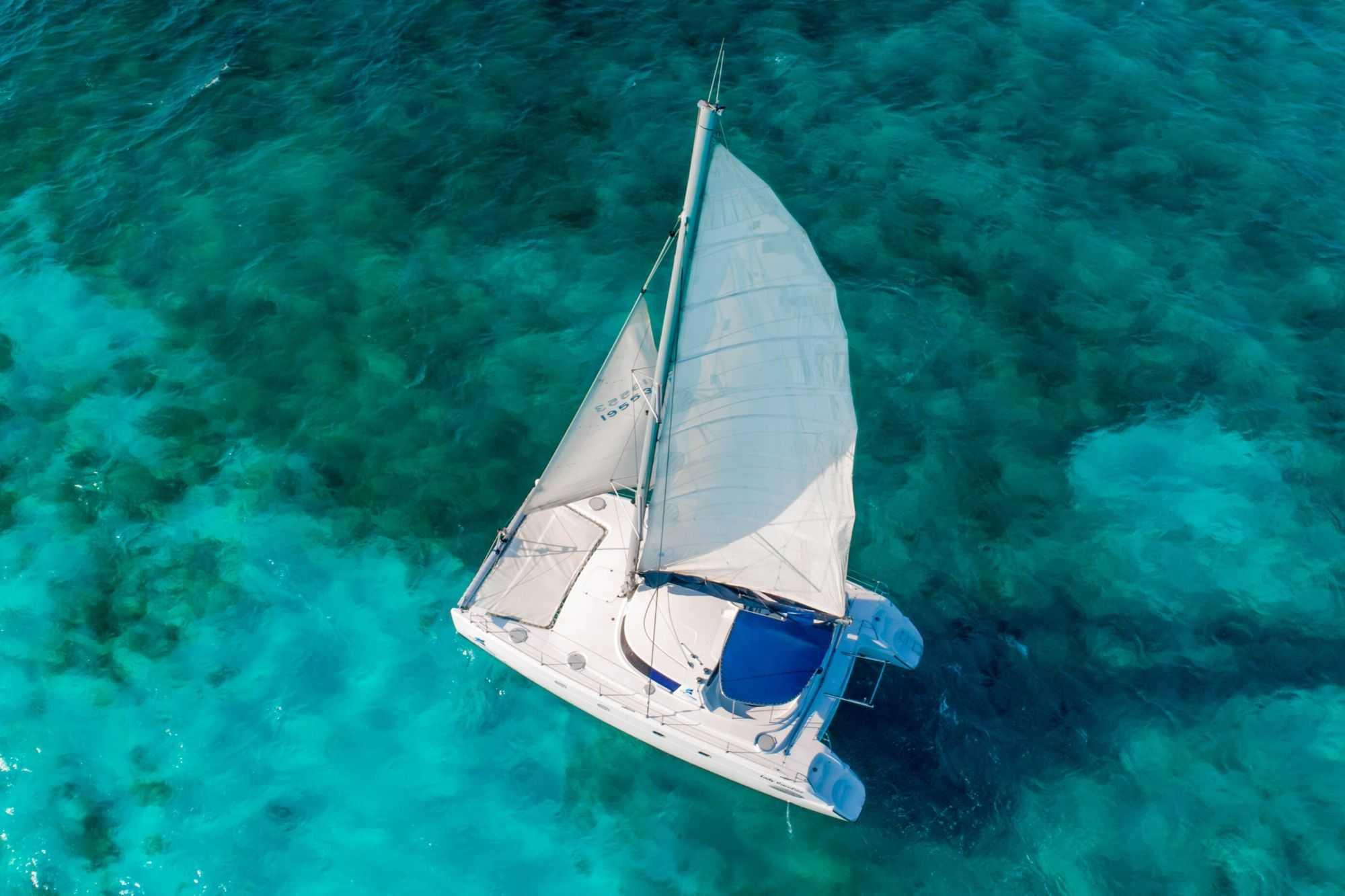 Lady Caroline - Isla Mujeres Catamaran Tour - Cancun Sailing - 8