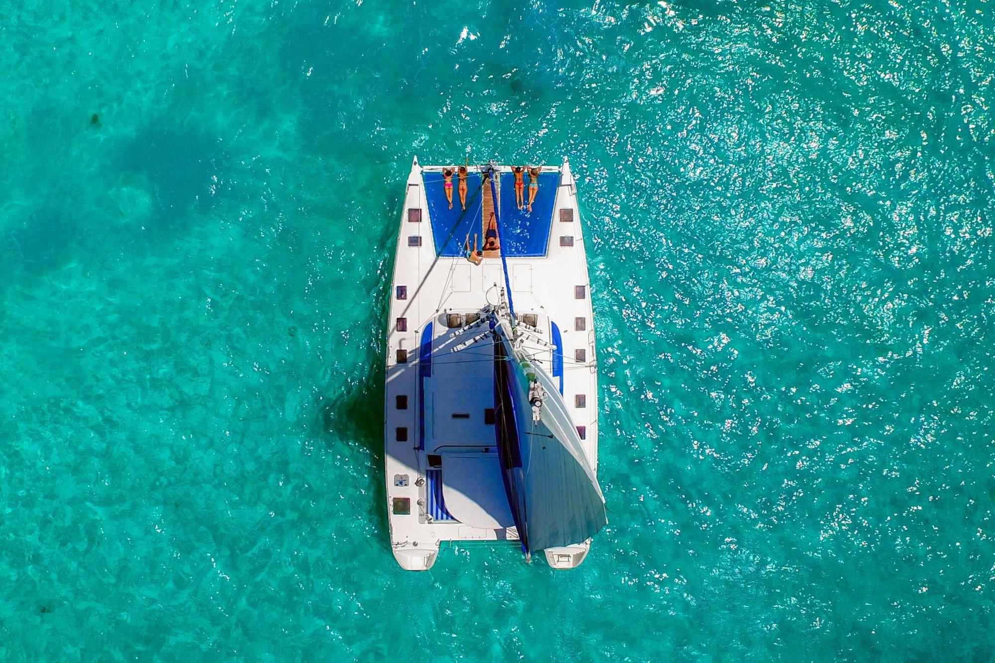 Luv Cat - Isla Mujeres Catamaran Tour - Cancun Sailing 1