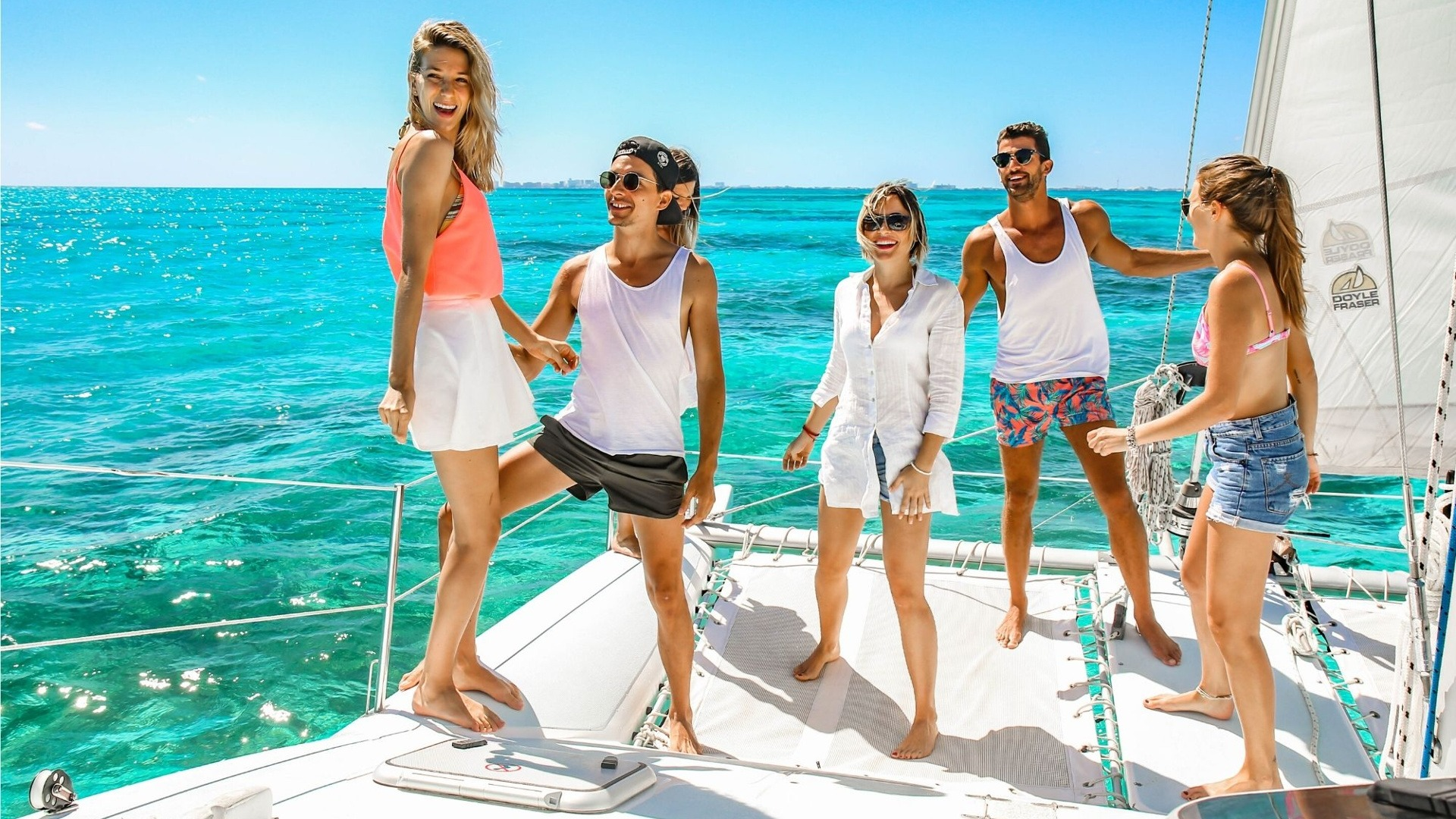 1 - LowRes - Nal Gone - Private tour to Isla Mujeres in catamaran - Cancun Sailing