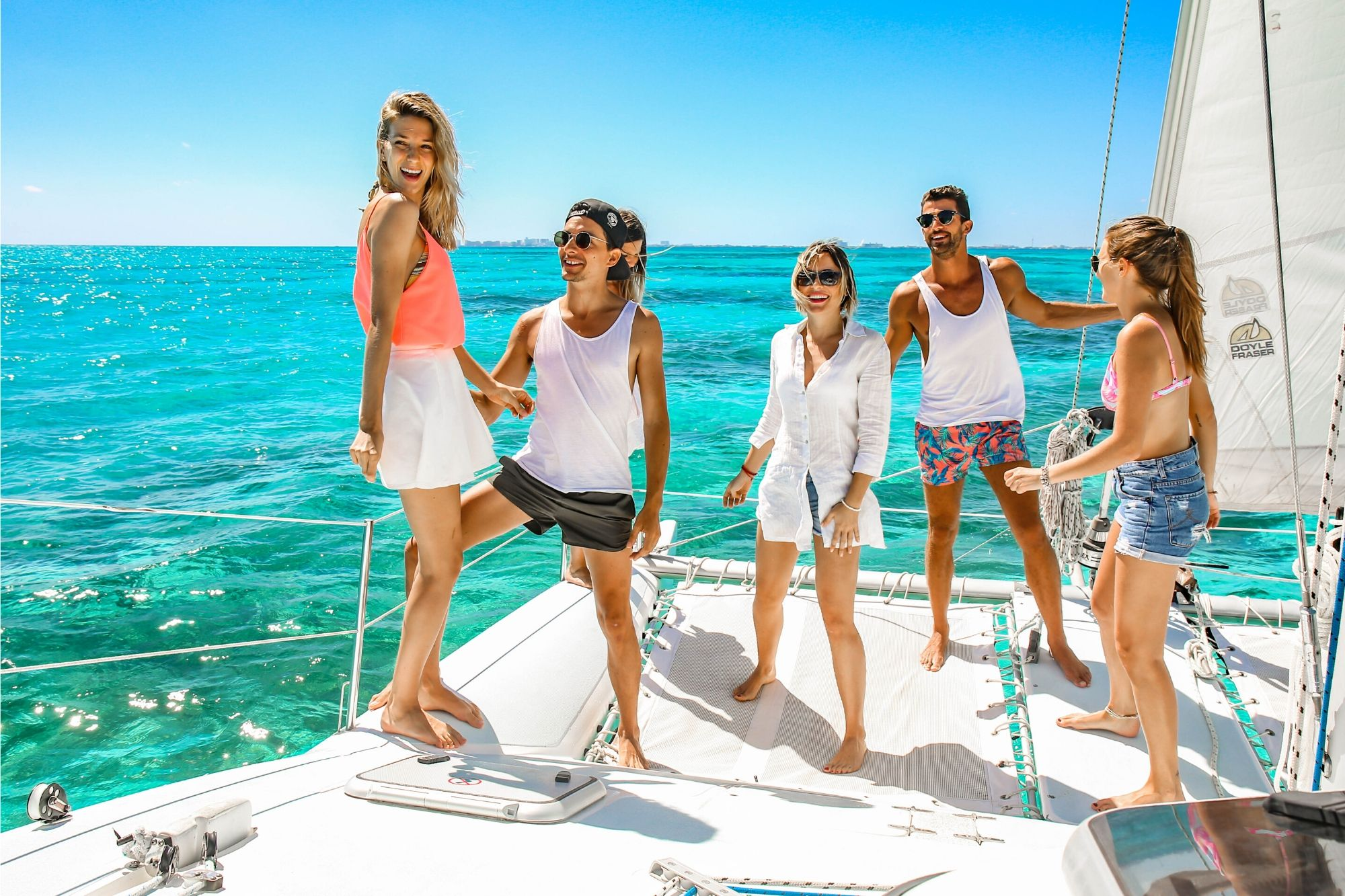 1 Nal Gone - Private tour to Isla Mujeres in catamaran - Cancun Sailing