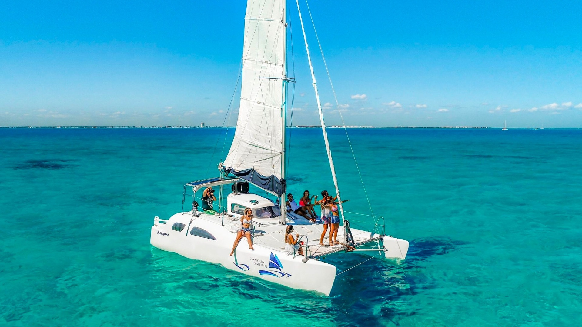 4 - LowRes - Nal Gone - Private tour to Isla Mujeres in catamaran - Cancun Sailing