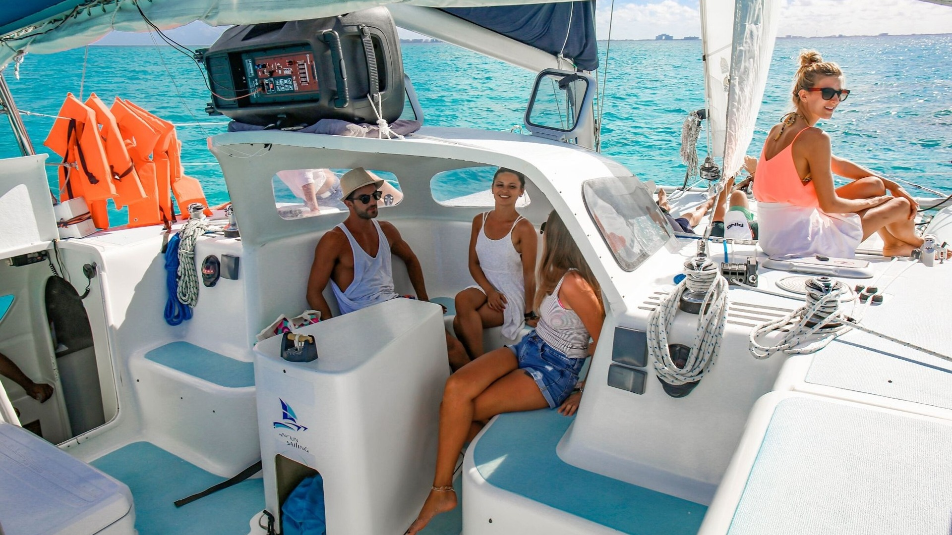 5 - LowRes - Nal Gone - Private tour to Isla Mujeres in catamaran - Cancun Sailing