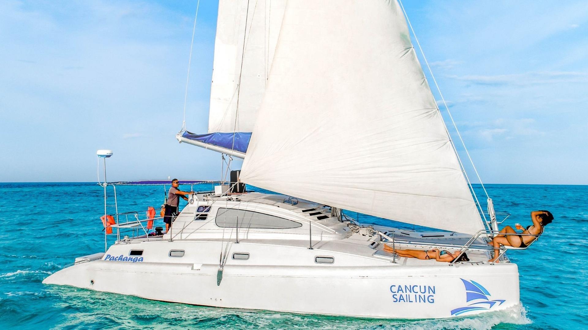 1 - LowRes - Pachanga - Private Isla Mujeres catamaran tour - Cancun Sailing