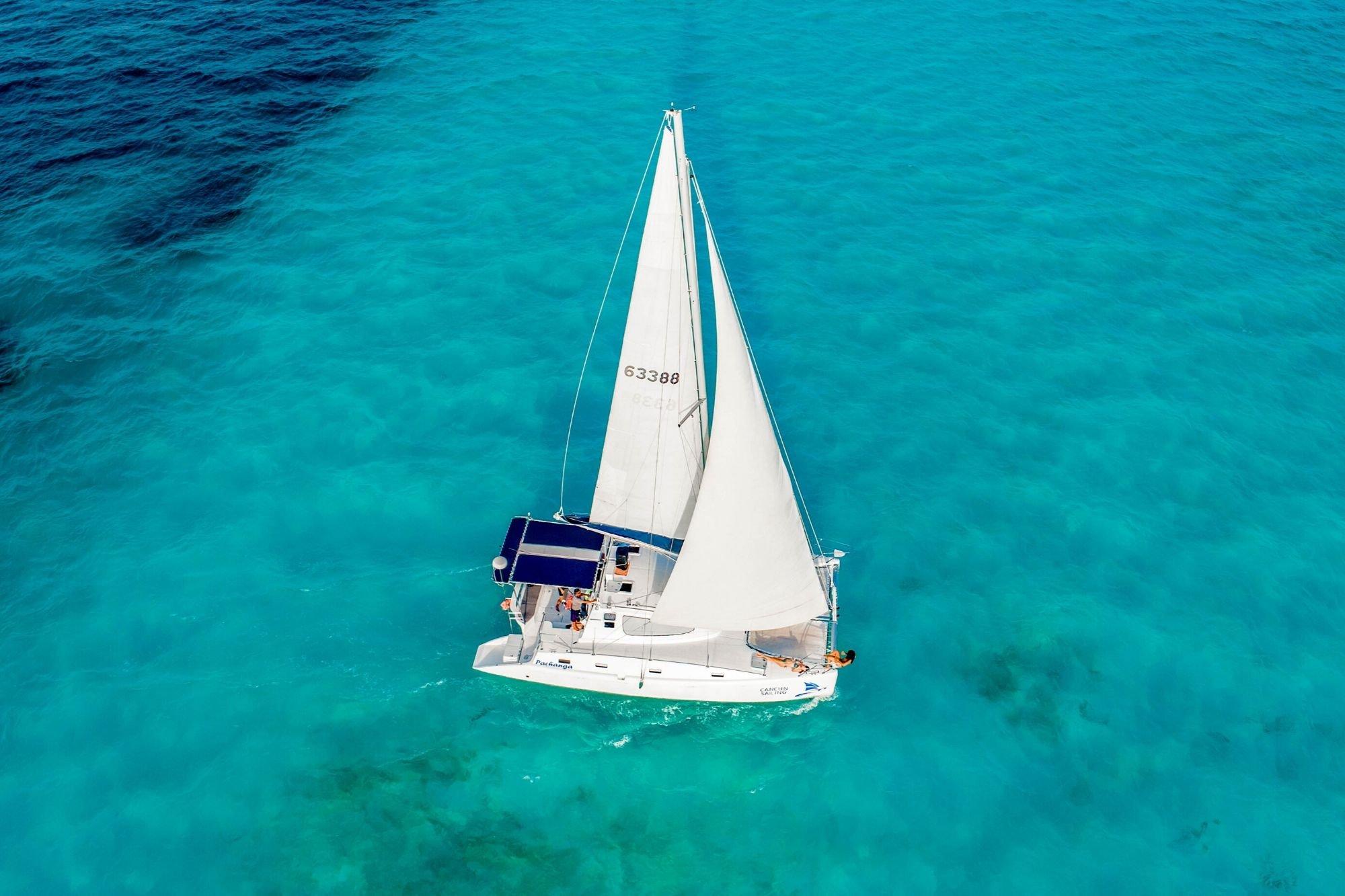 5 - HiRes - Pachanga - Private Isla Mujeres catamaran tour - Cancun Sailing
