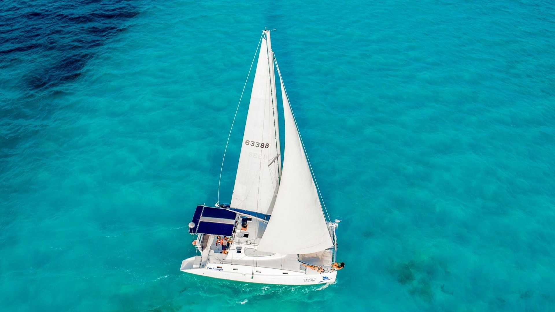 5 - LowRes - Pachanga - Private Isla Mujeres catamaran tour - Cancun Sailing