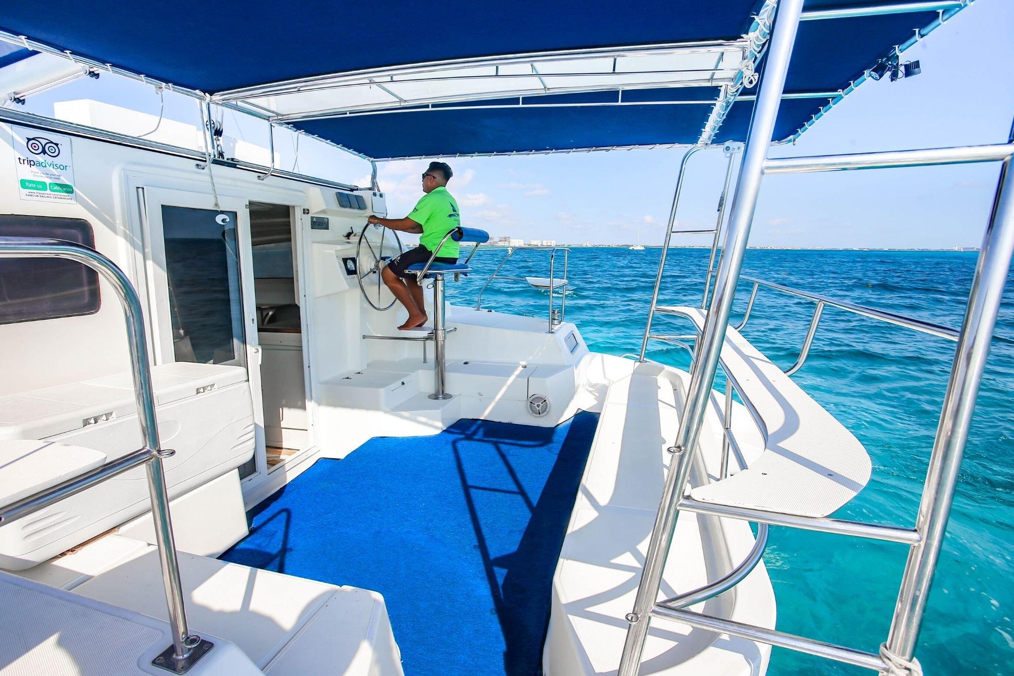 6 - HiRes - Pachanga - Private Isla Mujeres catamaran tour - Cancun Sailing