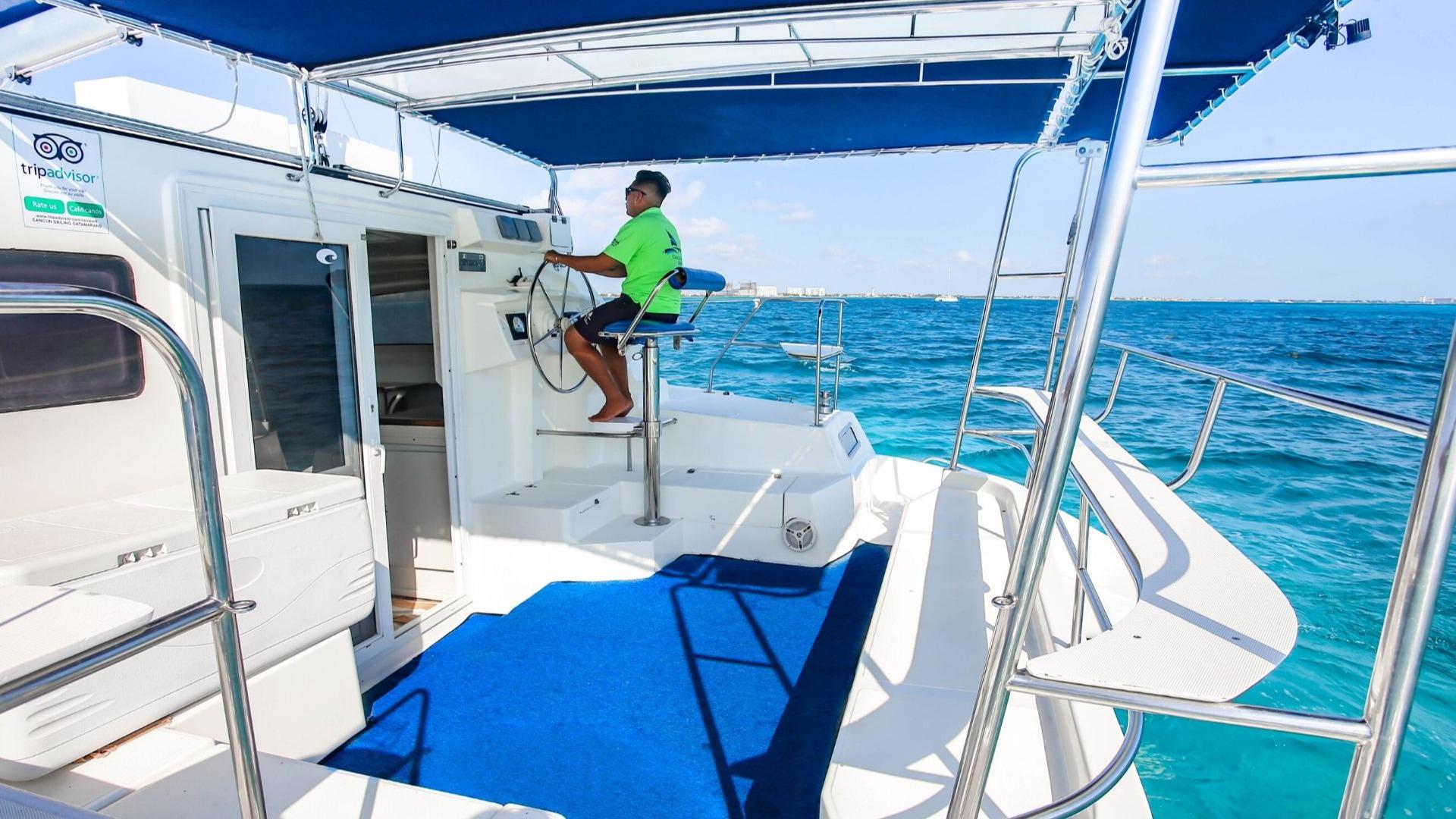 6 - LowRes - Pachanga - Private Isla Mujeres catamaran tour - Cancun Sailing