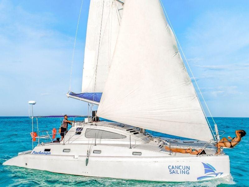 Pachanga 800x600 - Isla Mujeres Catamaran Tour - Cancun Sailing