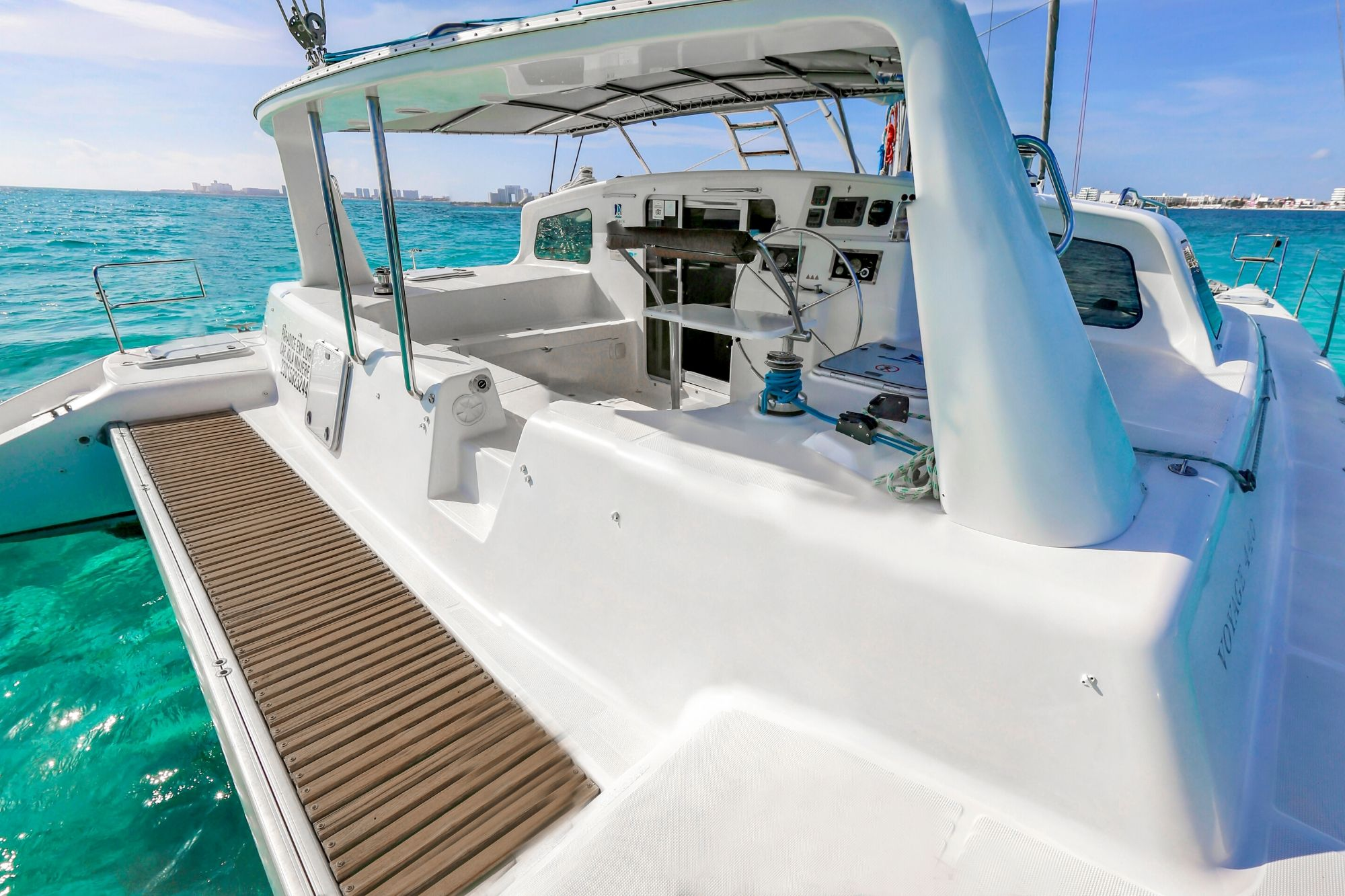 2 - Paradise explorer - Private Isla Mujeres catamaran tour - Cancun Sailing