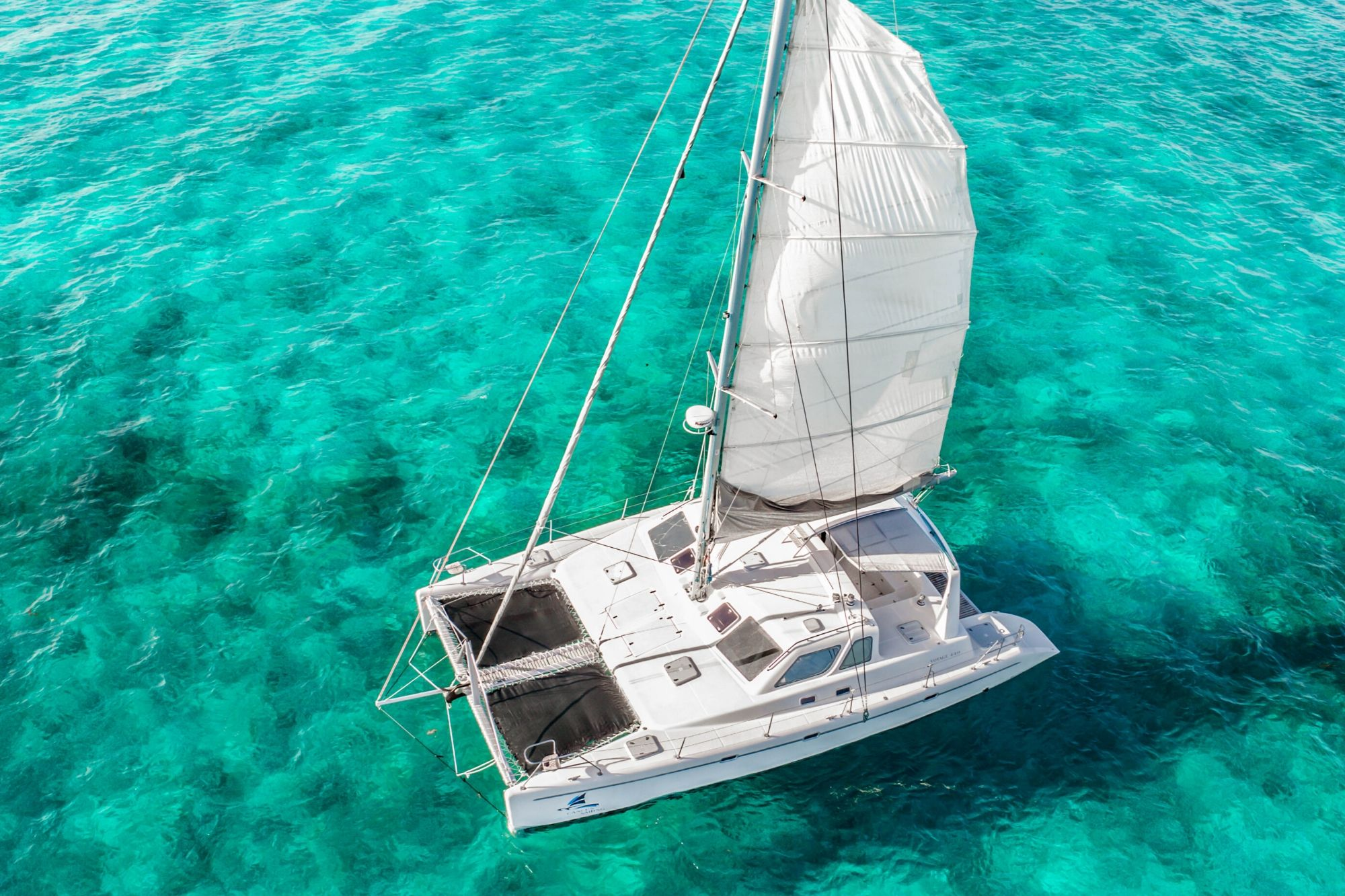 4 - Paradise explorer - Private Isla Mujeres catamaran tour - Cancun Sailing