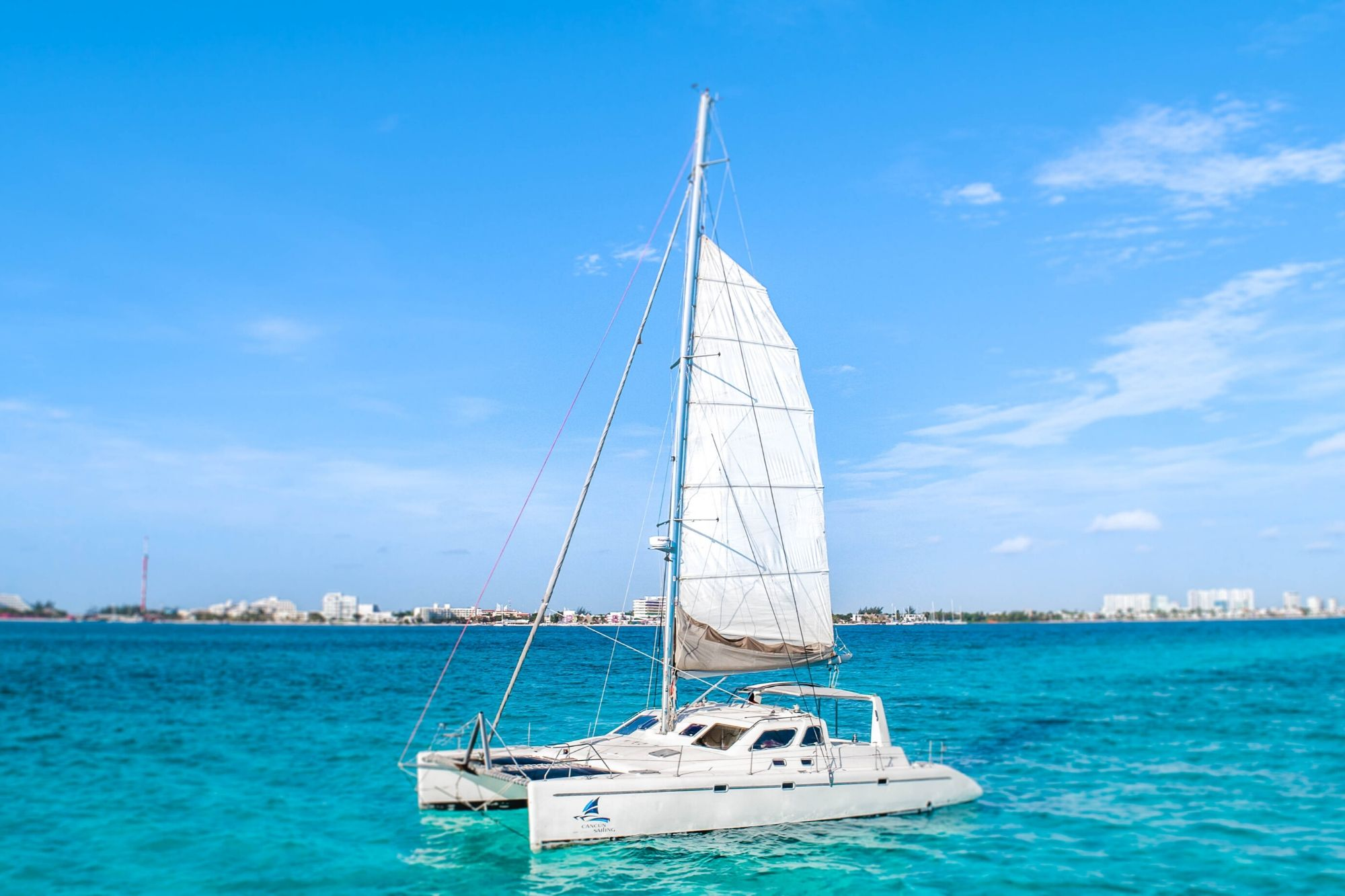 6 - Paradise explorer - Private Isla Mujeres catamaran tour - Cancun Sailing