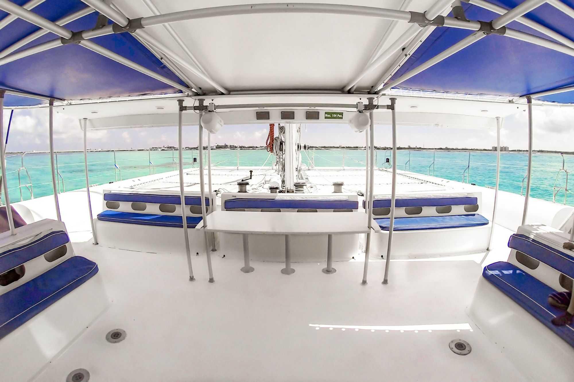 10 Private Isla Mujeres tour in catamaran - Sea Passion I II - Cancun Sailing