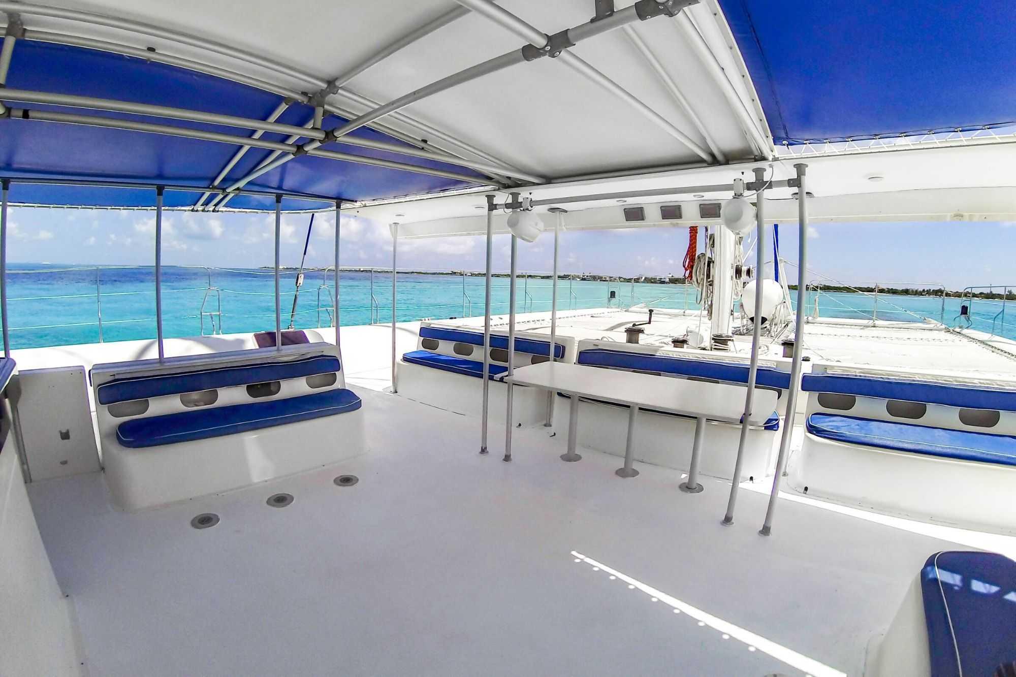 11 Private Isla Mujeres tour in catamaran - Sea Passion I II - Cancun Sailing